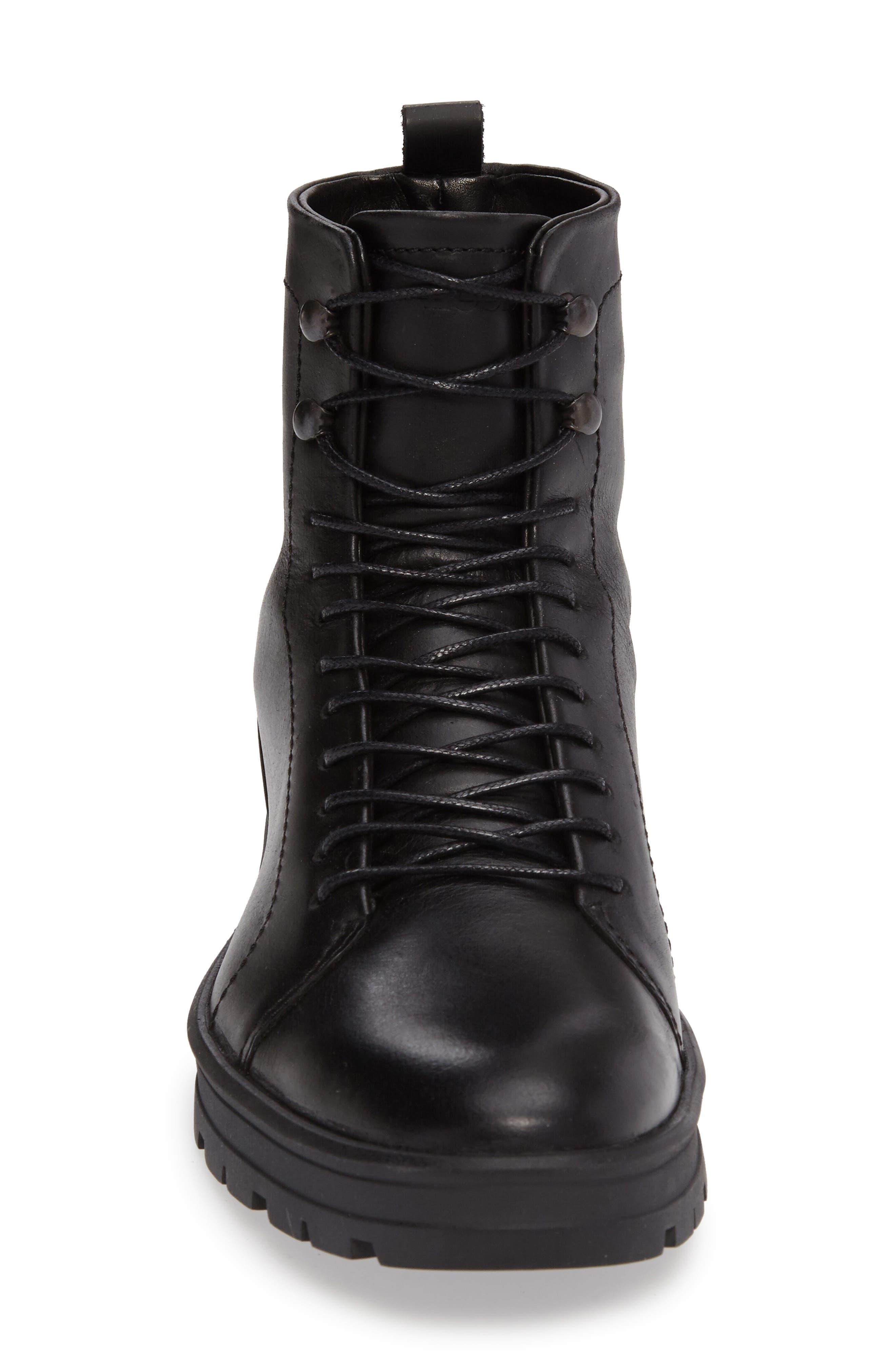 Hudson Waterproof Tall Boot,                             Alternate thumbnail 3, color,                             001