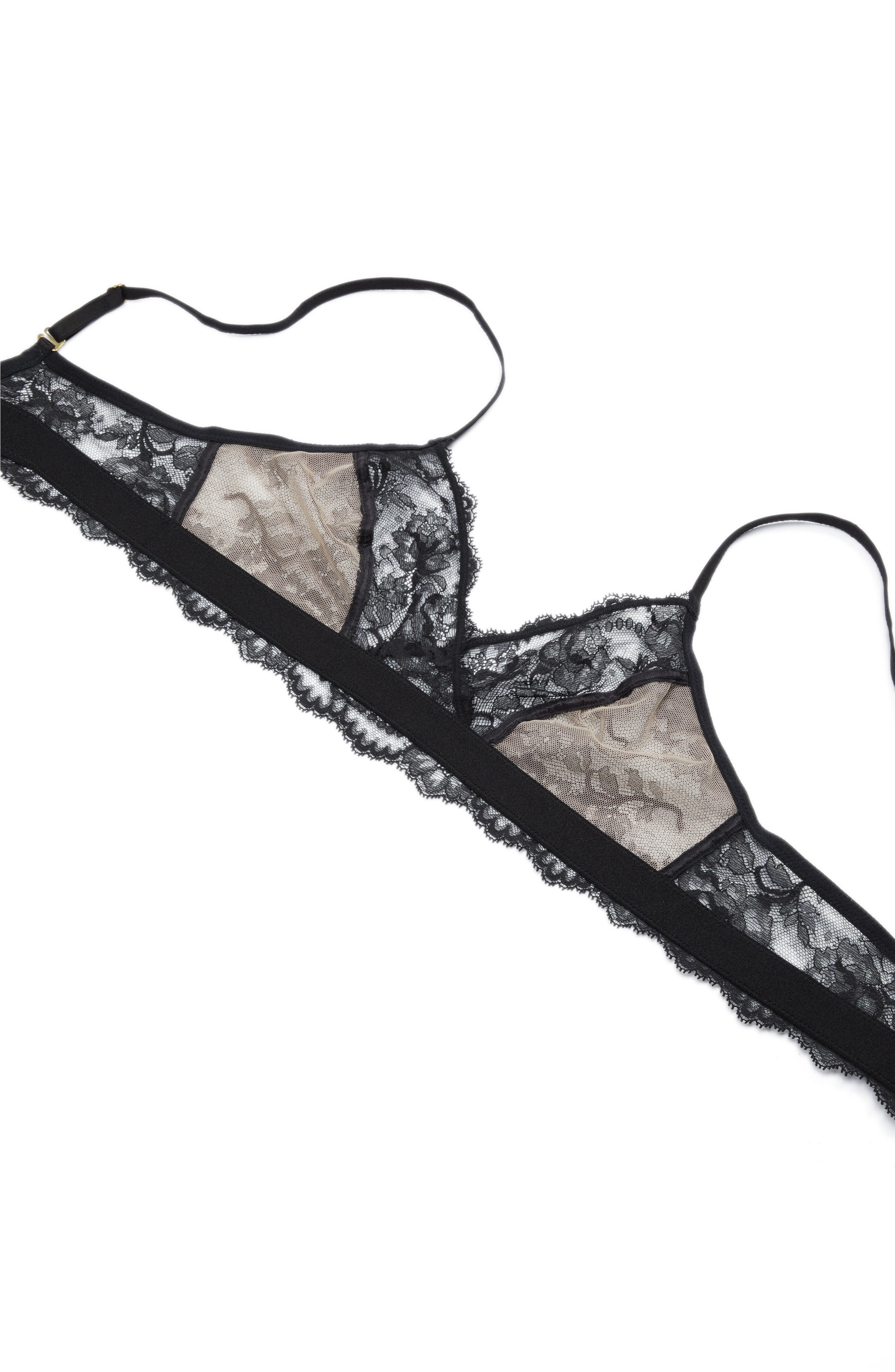 Devotion Convertible Bralette,                             Alternate thumbnail 6, color,                             010