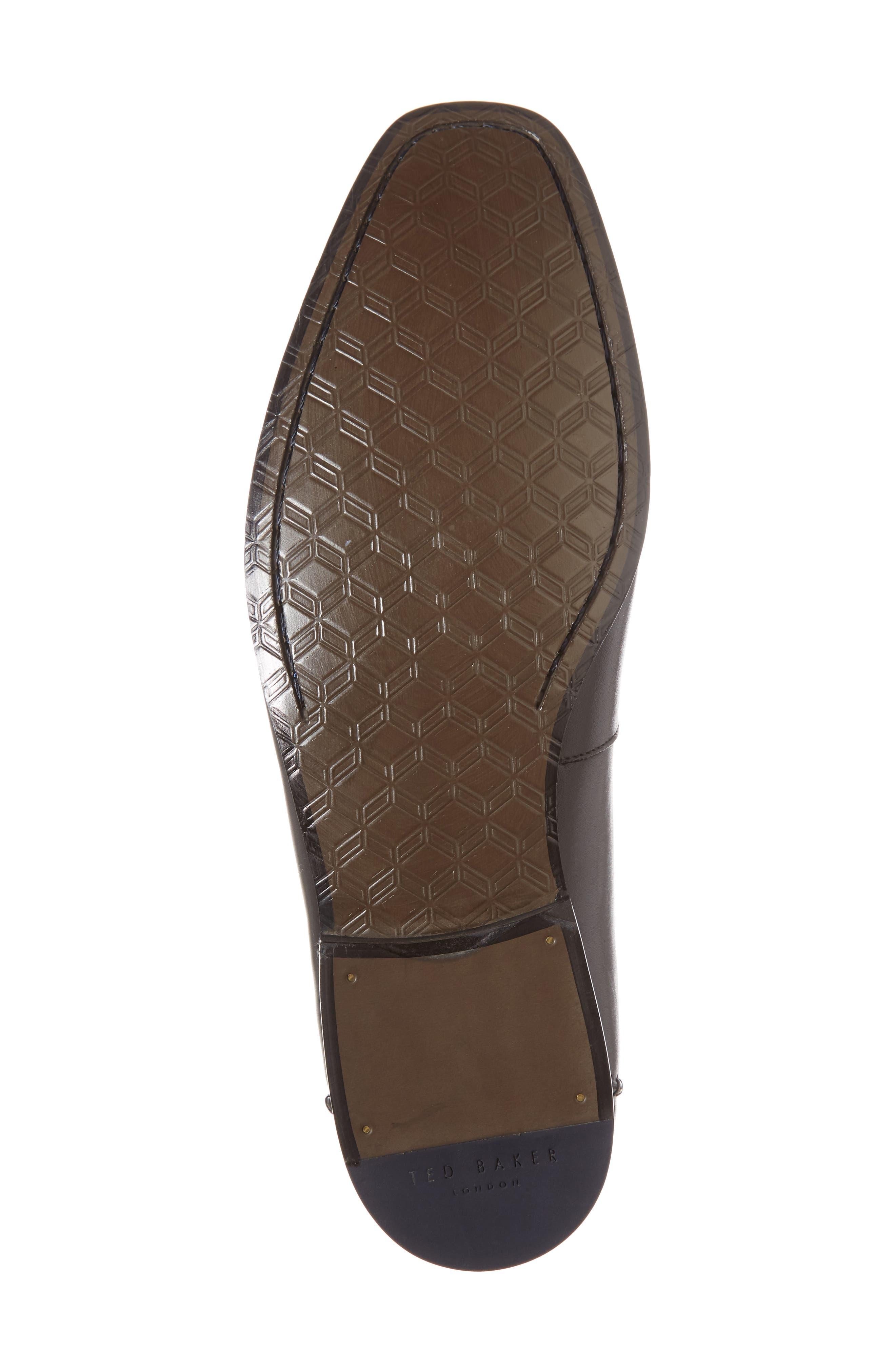 Bly 9 Venetian Loafer,                             Alternate thumbnail 6, color,                             BLACK LEATHER