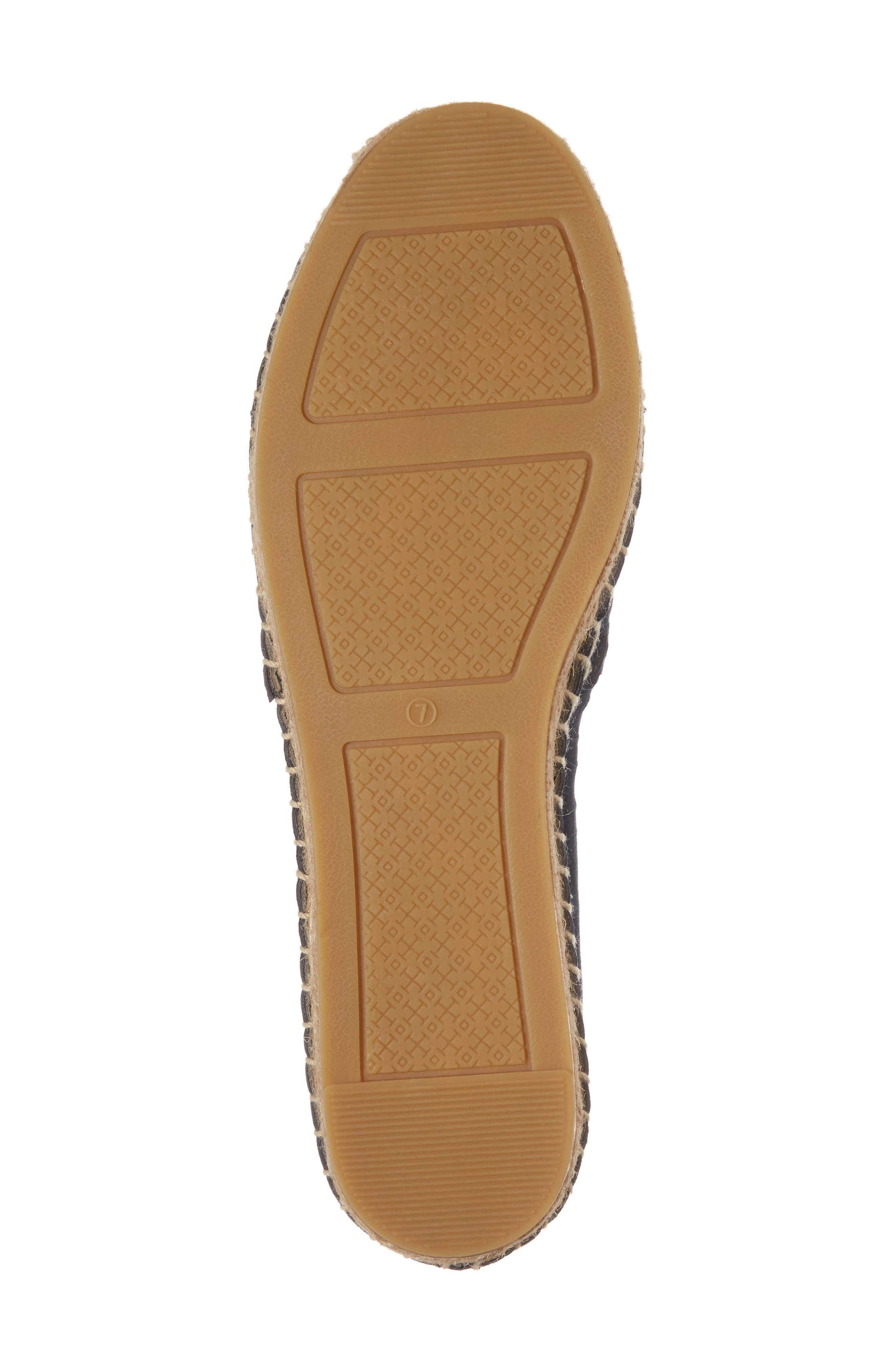 May Perforated Espadrille Flat,                             Alternate thumbnail 6, color,                             430