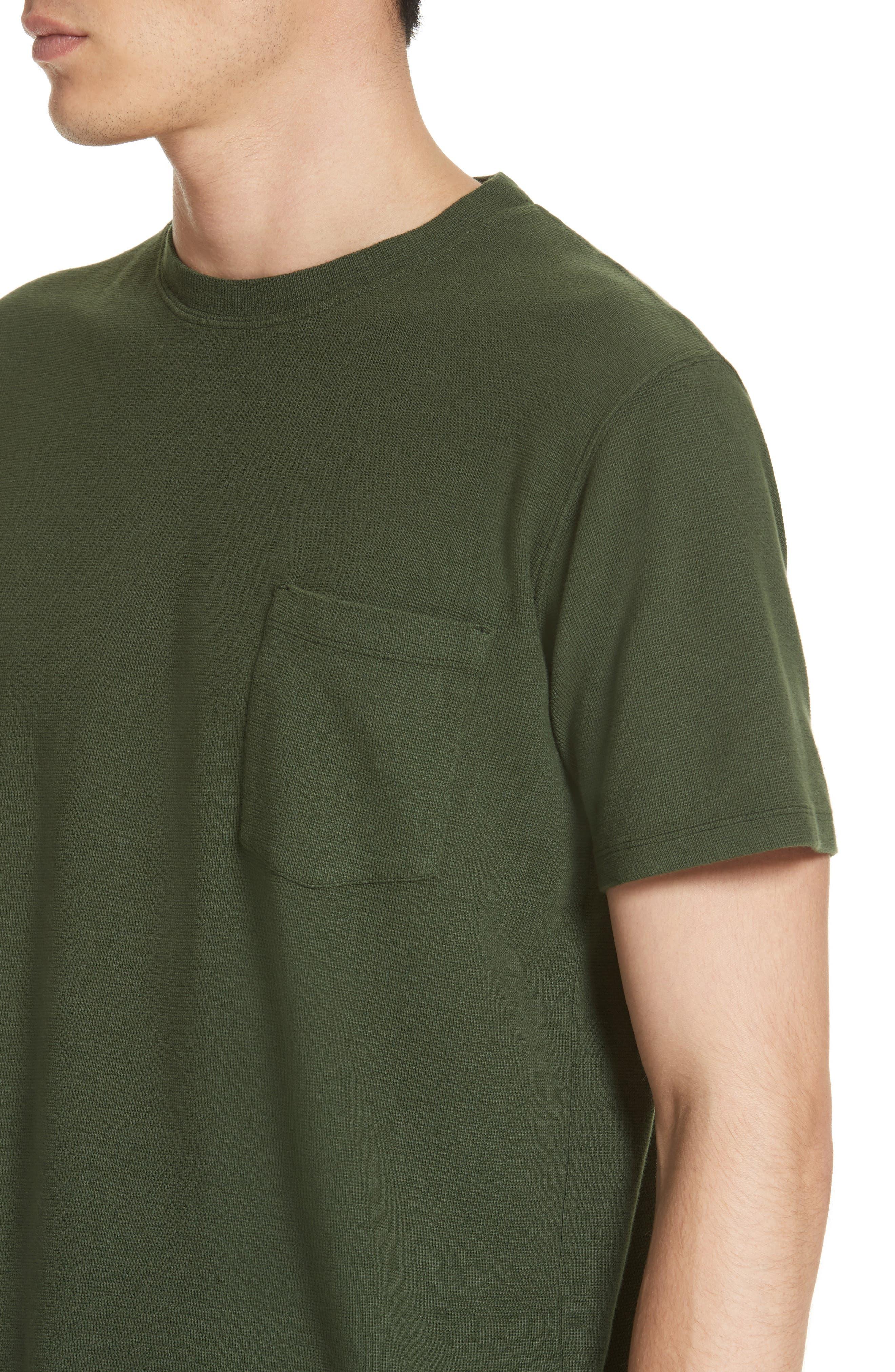 Niels Garment Dye T-Shirt,                             Alternate thumbnail 4, color,