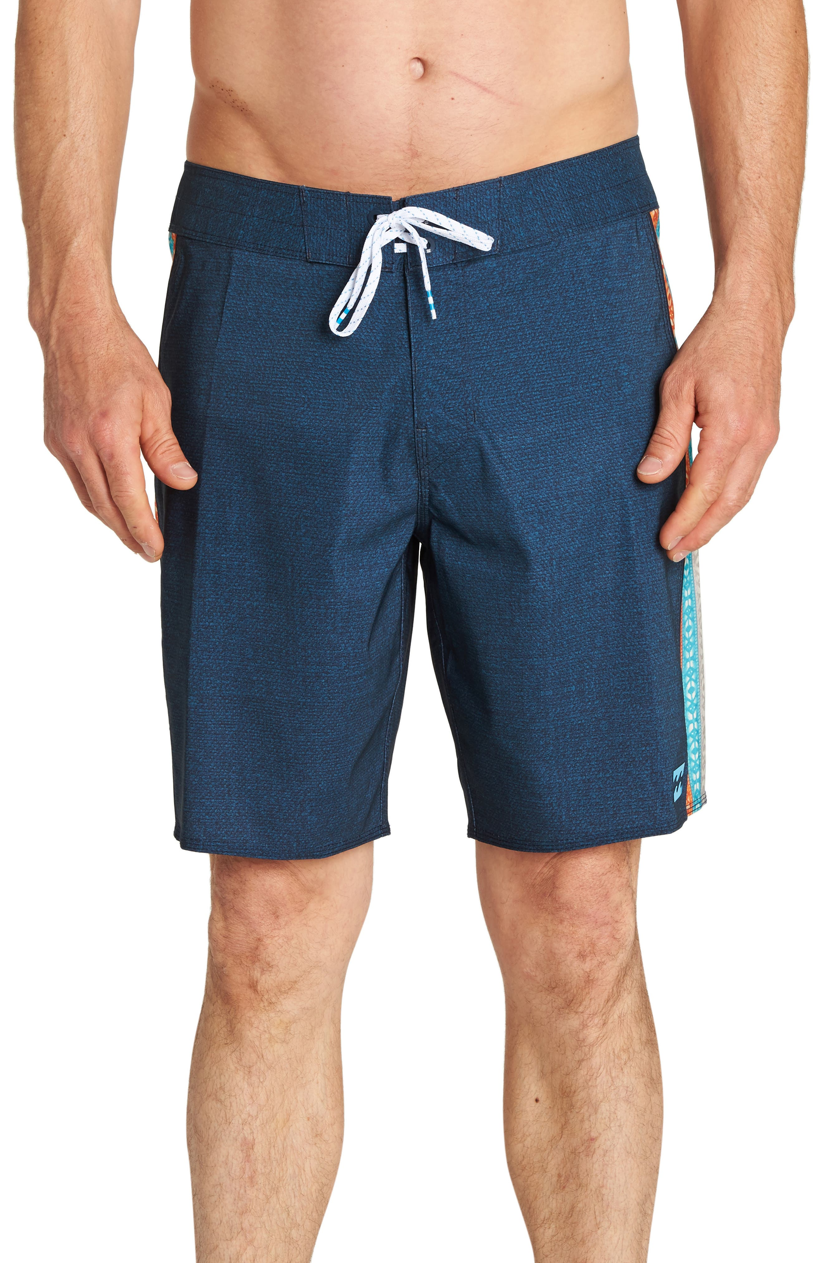 D Bah Airlite Board Shorts,                         Main,                         color, INDIGO