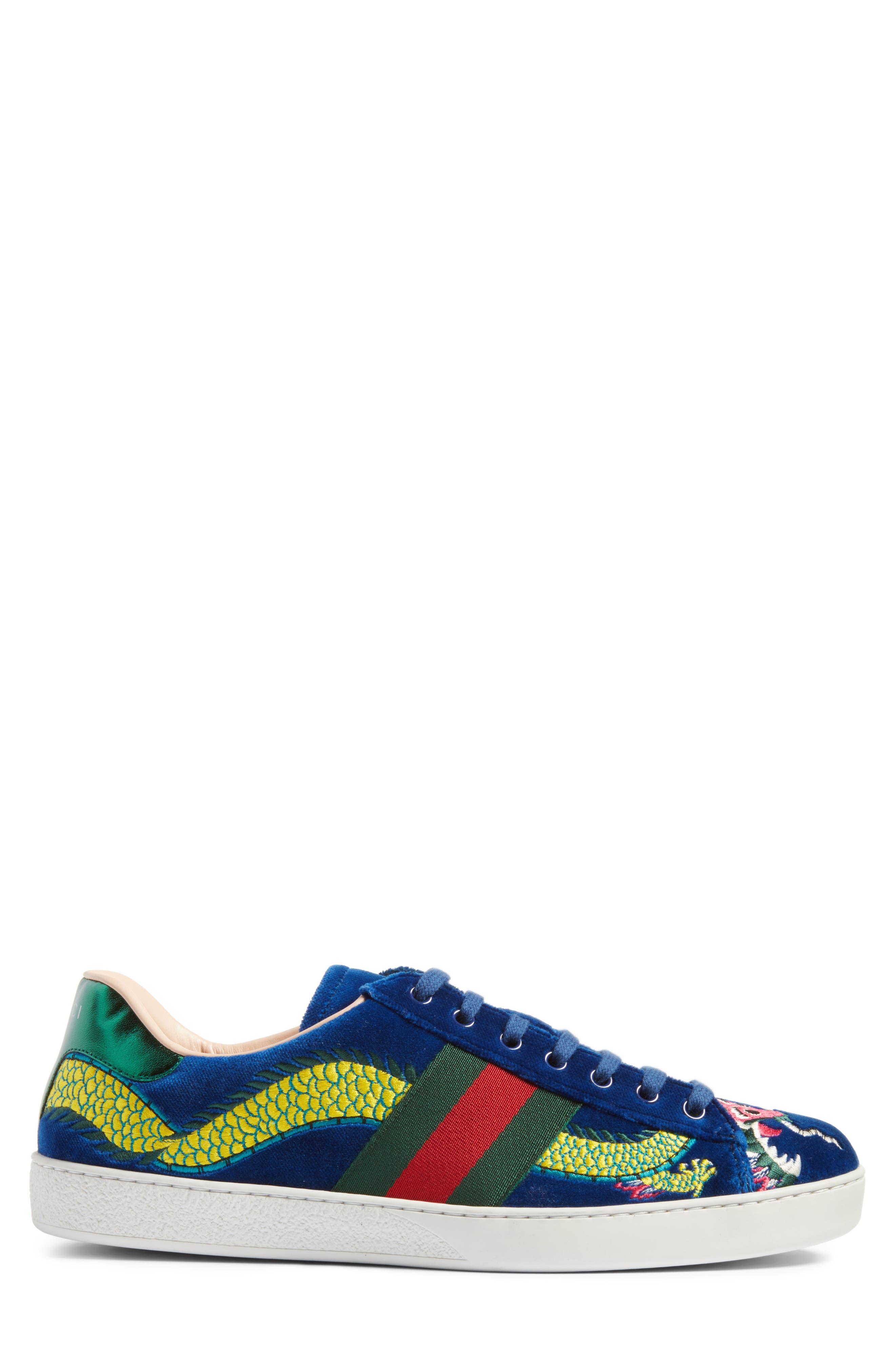 New Ace Dragon Sneaker,                             Alternate thumbnail 3, color,                             493
