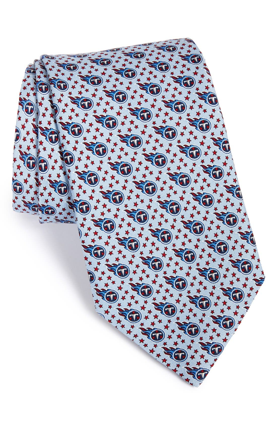 Tennessee Titans - NFL Woven Silk Tie,                         Main,                         color, BLUE SKY