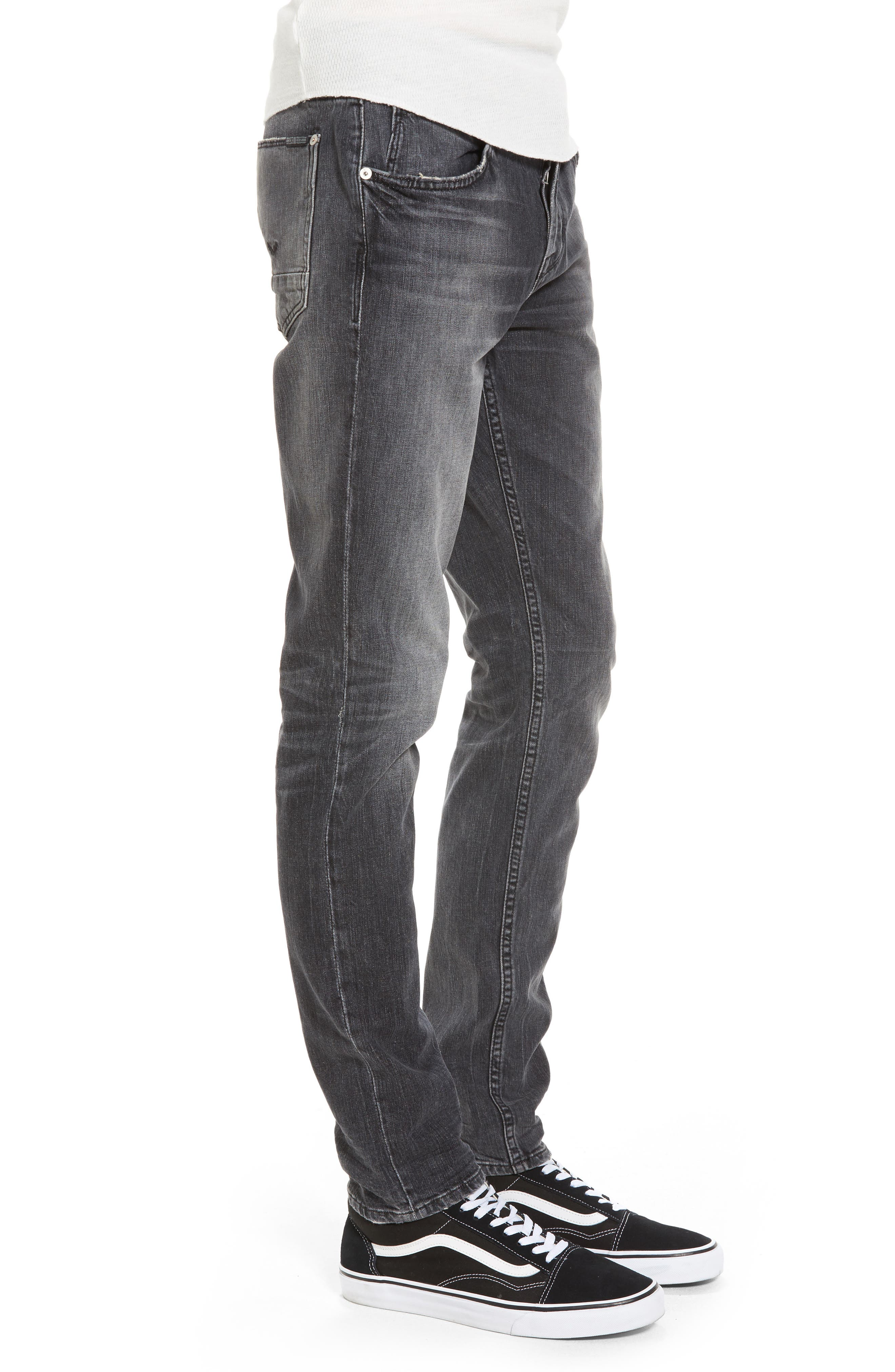 Axl Skinny Fit Jeans,                             Alternate thumbnail 3, color,                             001