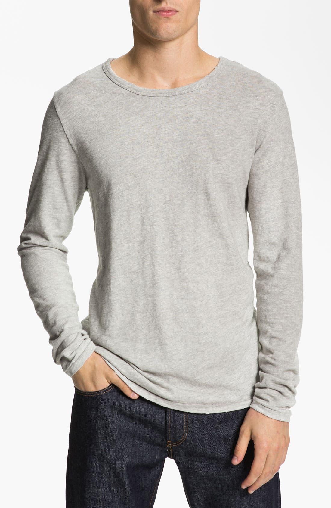 Penfield Vest, Scotch & Soda T-Shirt &  Lacoste L!VE Slim Straight Leg Jeans, Main, color, 020
