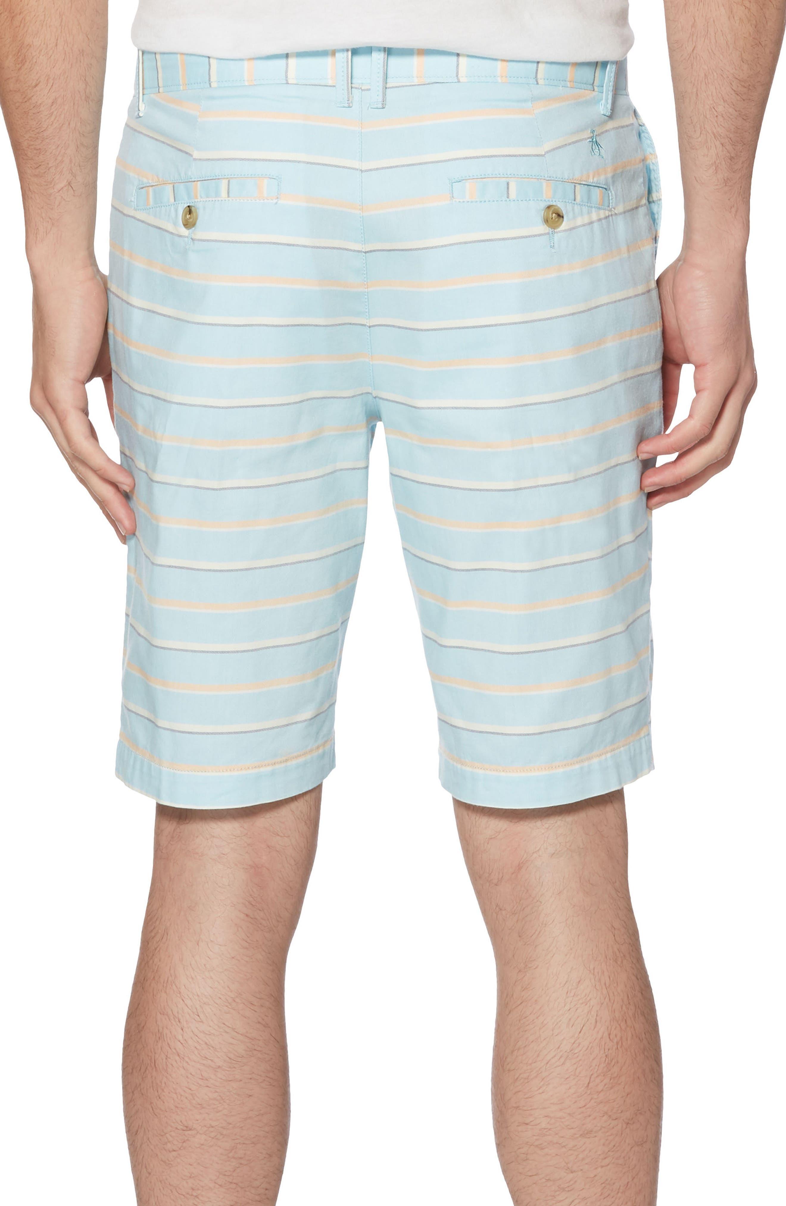 Dobby Stripe Shorts,                             Alternate thumbnail 2, color,