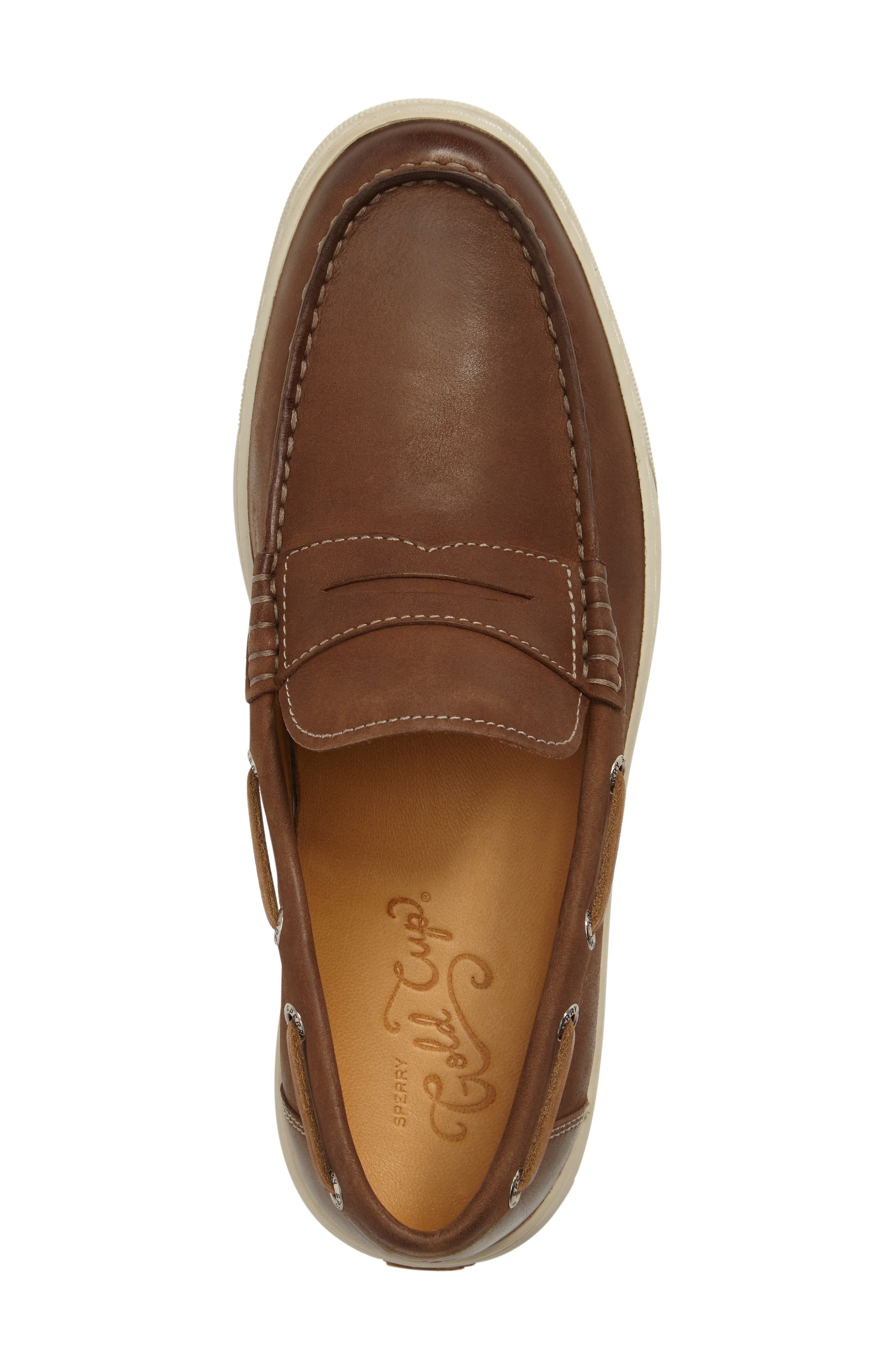 Gold Cup Penny Loafer,                             Alternate thumbnail 10, color,