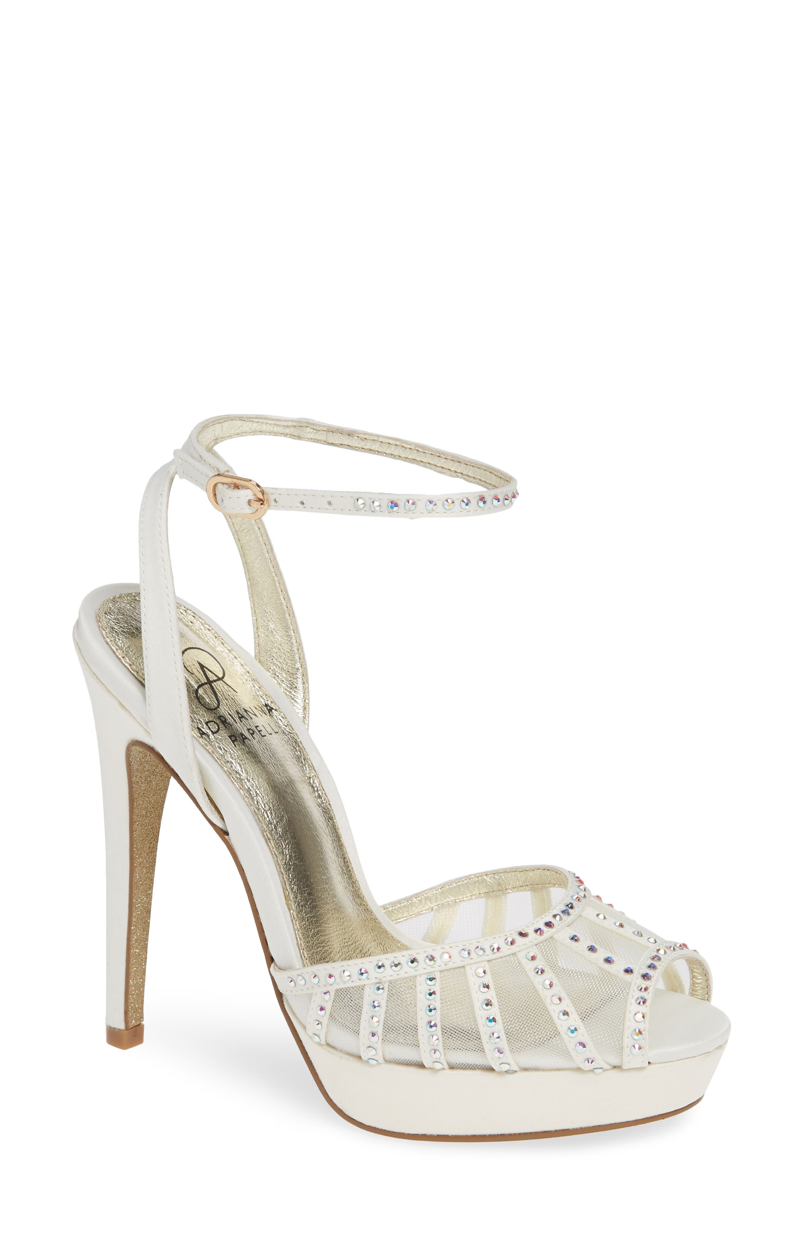 Simone Crystal Embellished Platform Sandal,                             Main thumbnail 4, color,
