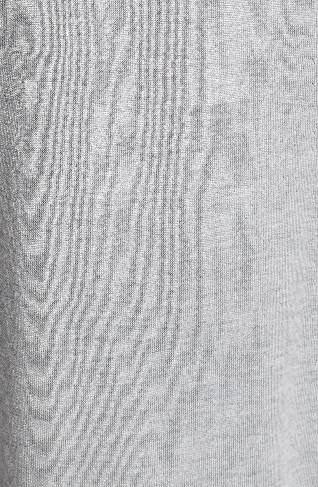 Lightweight Merino Jersey V-Neck Tunic,                             Alternate thumbnail 59, color,