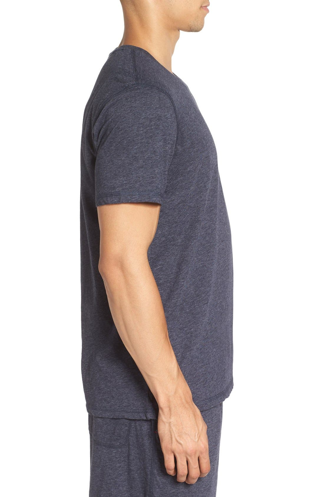 Recycled Cotton Blend T-Shirt,                             Alternate thumbnail 5, color,