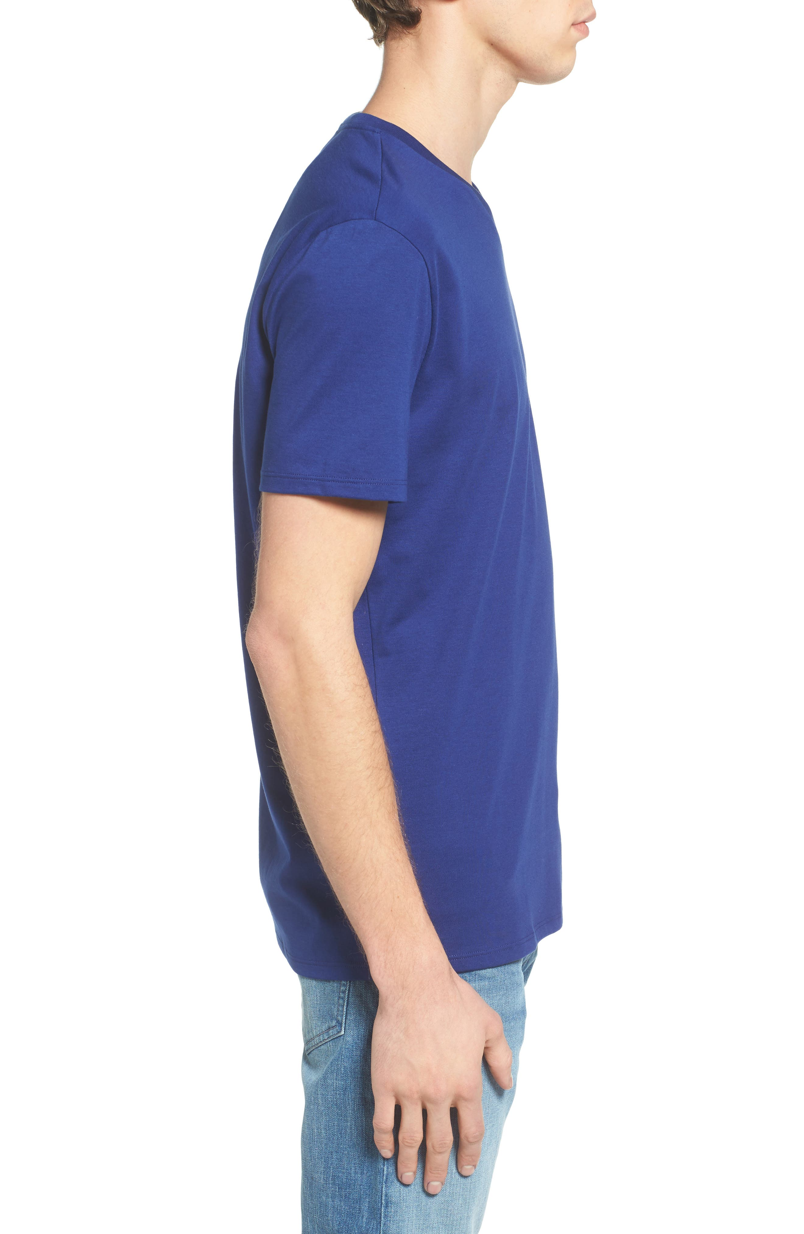 V-Neck T-Shirt,                             Alternate thumbnail 15, color,