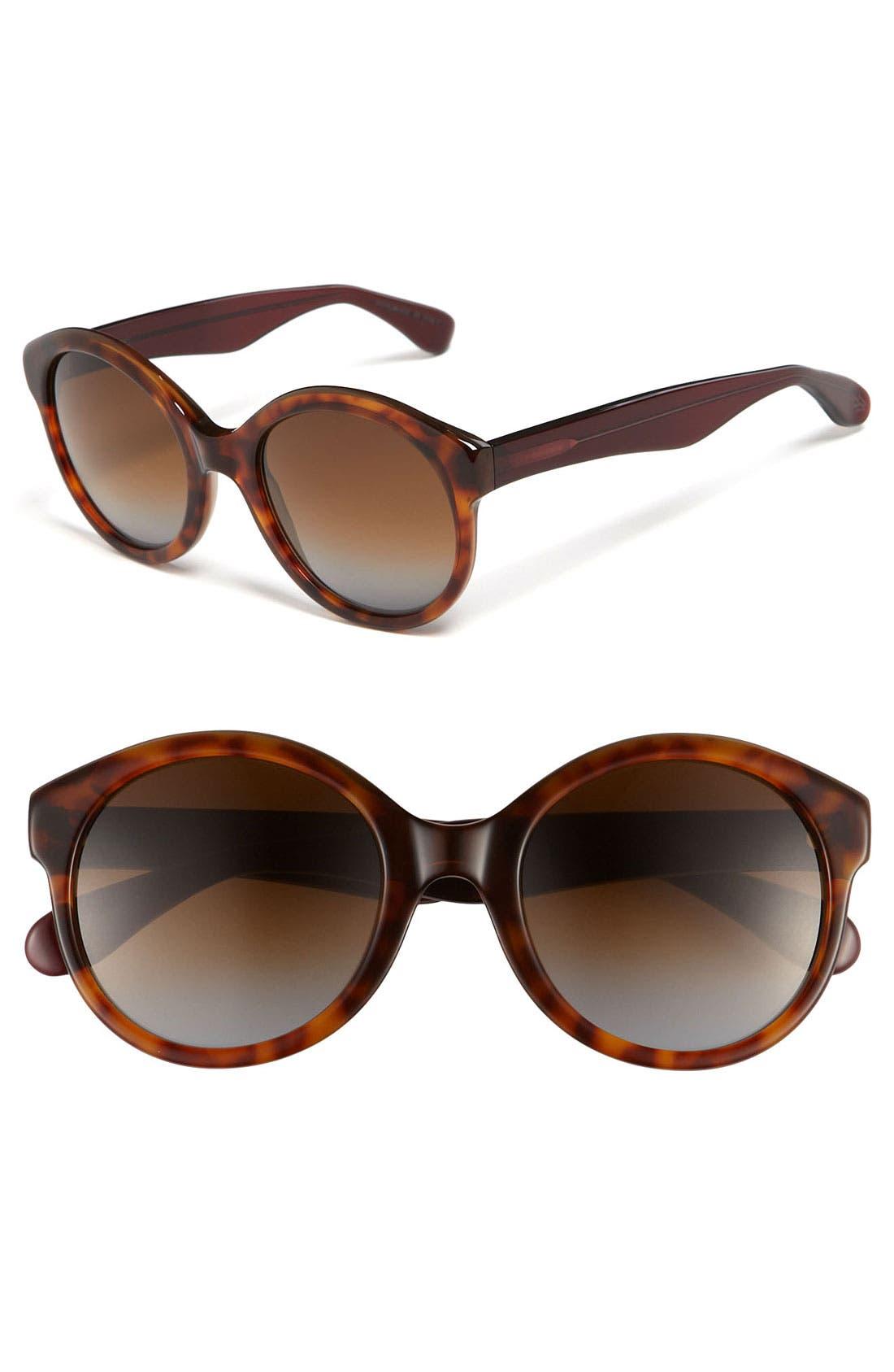 Small Round Sunglasses,                         Main,                         color, 200