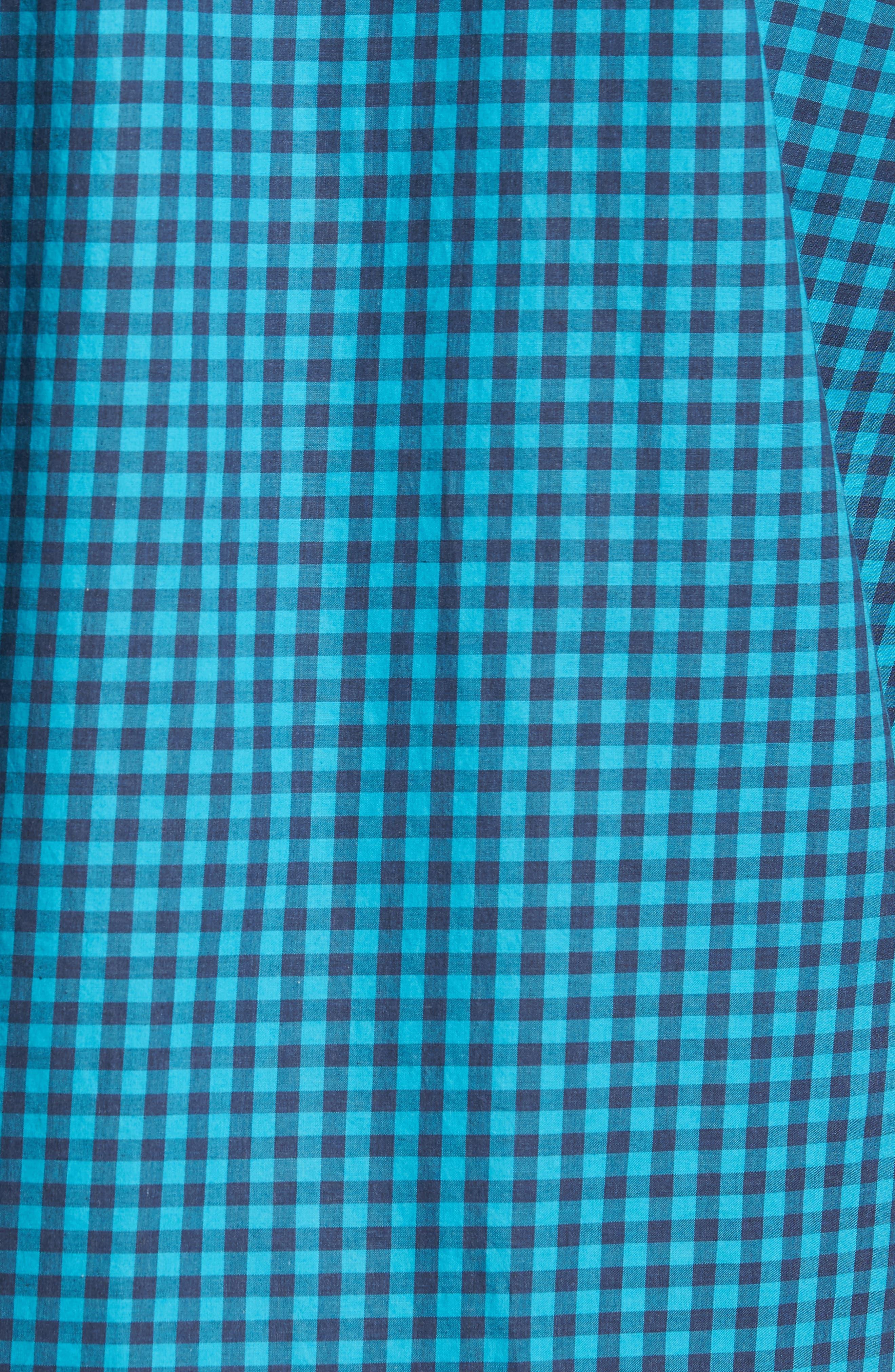 Mazagan Check Sport Shirt,                             Alternate thumbnail 5, color,                             401