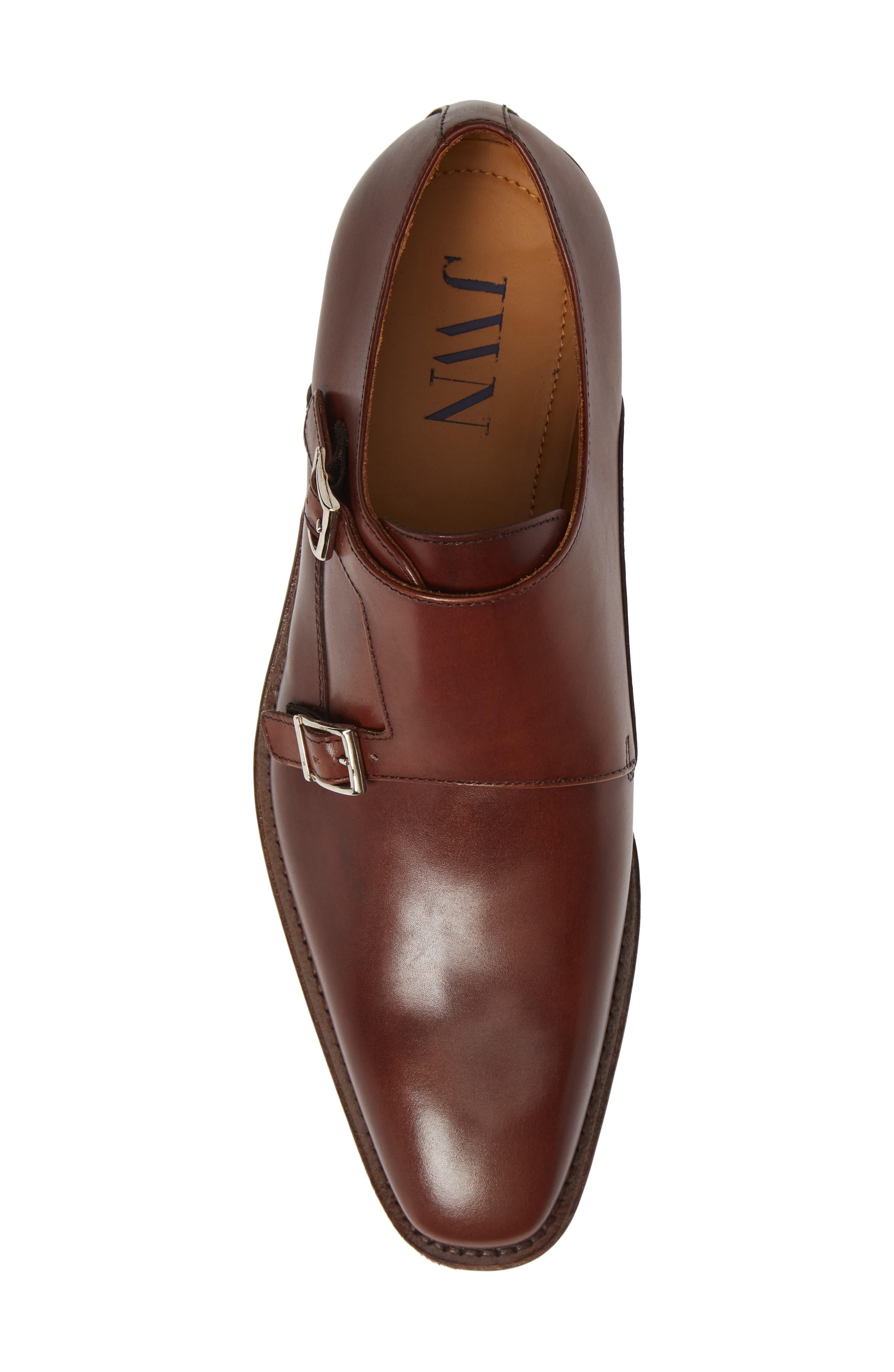 Trento Double Monk Strap Shoe,                             Alternate thumbnail 5, color,                             236
