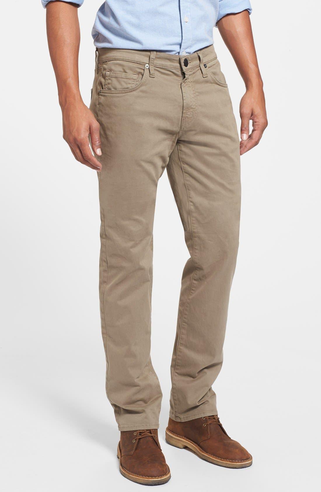 'Kane' Slim Fit Cotton Twill Pants,                             Main thumbnail 12, color,