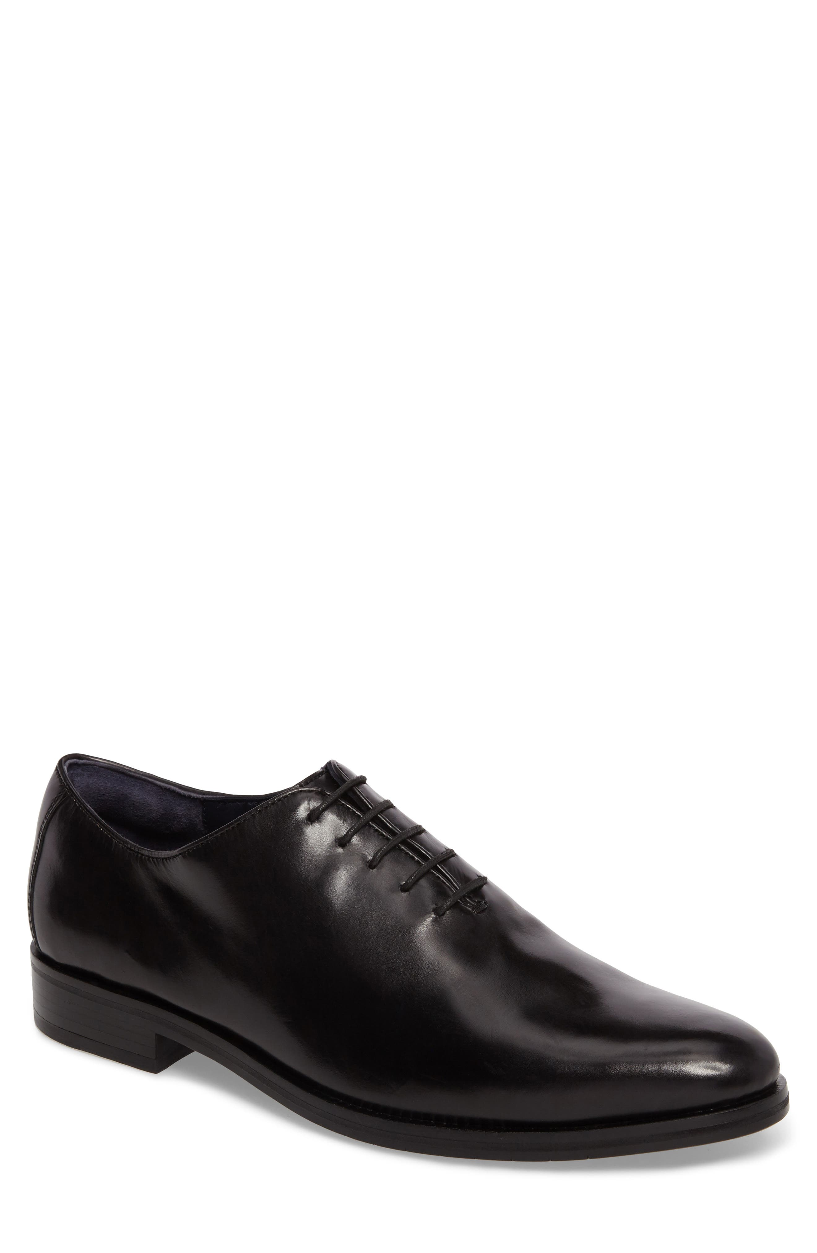 Cole Haan Washington Grand Plain Toe Oxford- Black