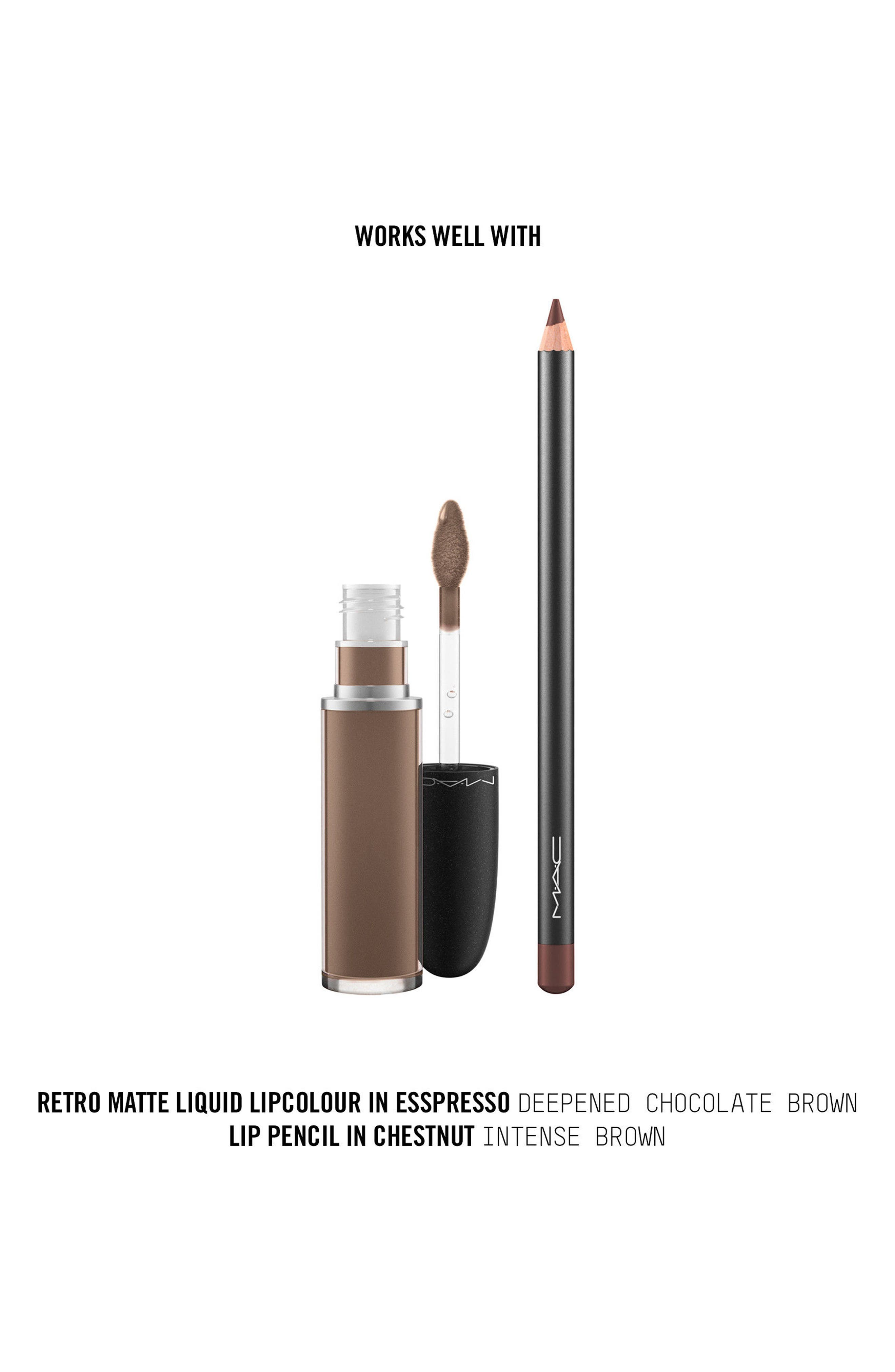MAC Retro Matte Liquid Lipcolor,                             Alternate thumbnail 103, color,