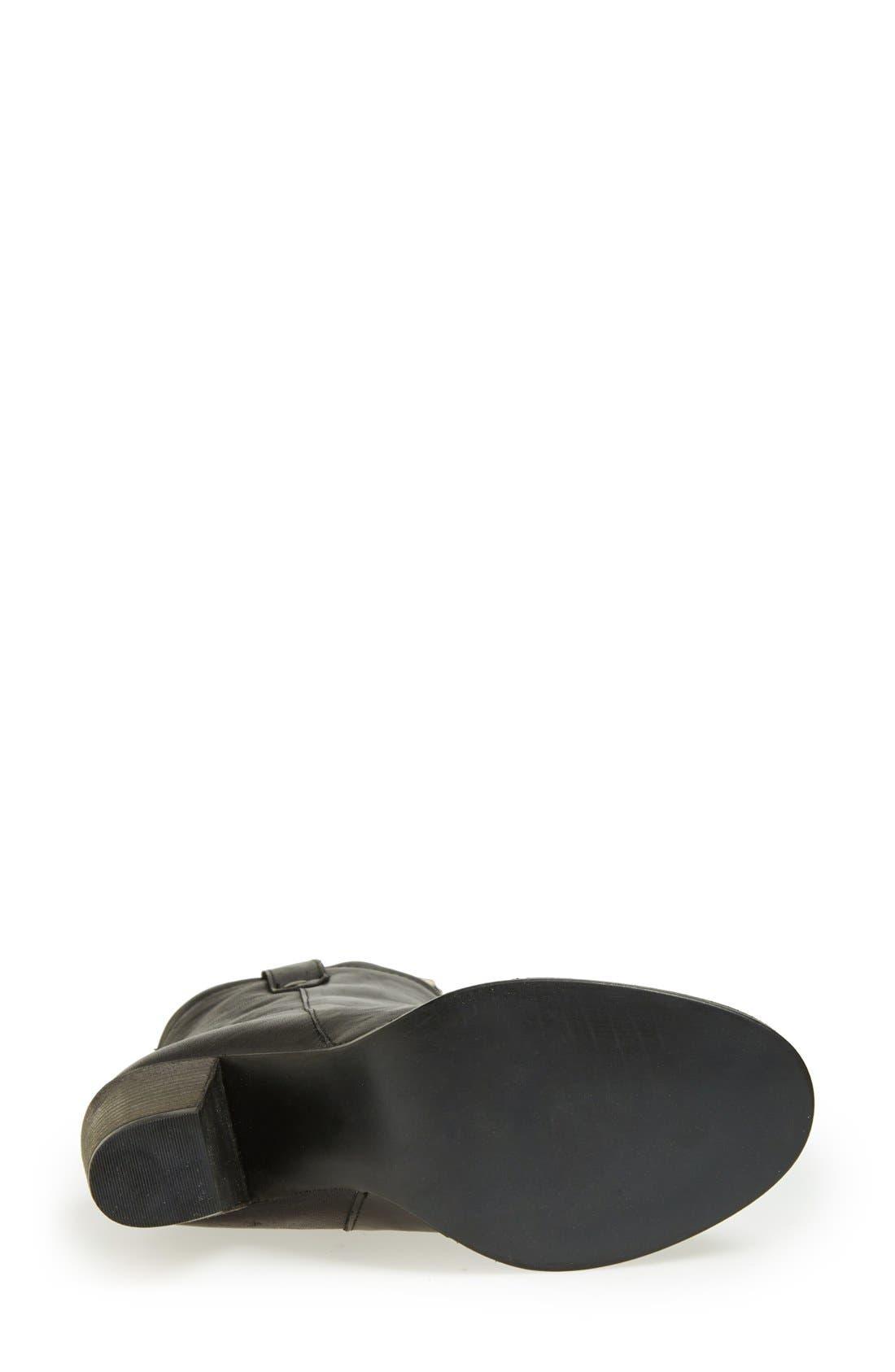 'Taralyn' Leather Boot,                             Alternate thumbnail 2, color,                             002