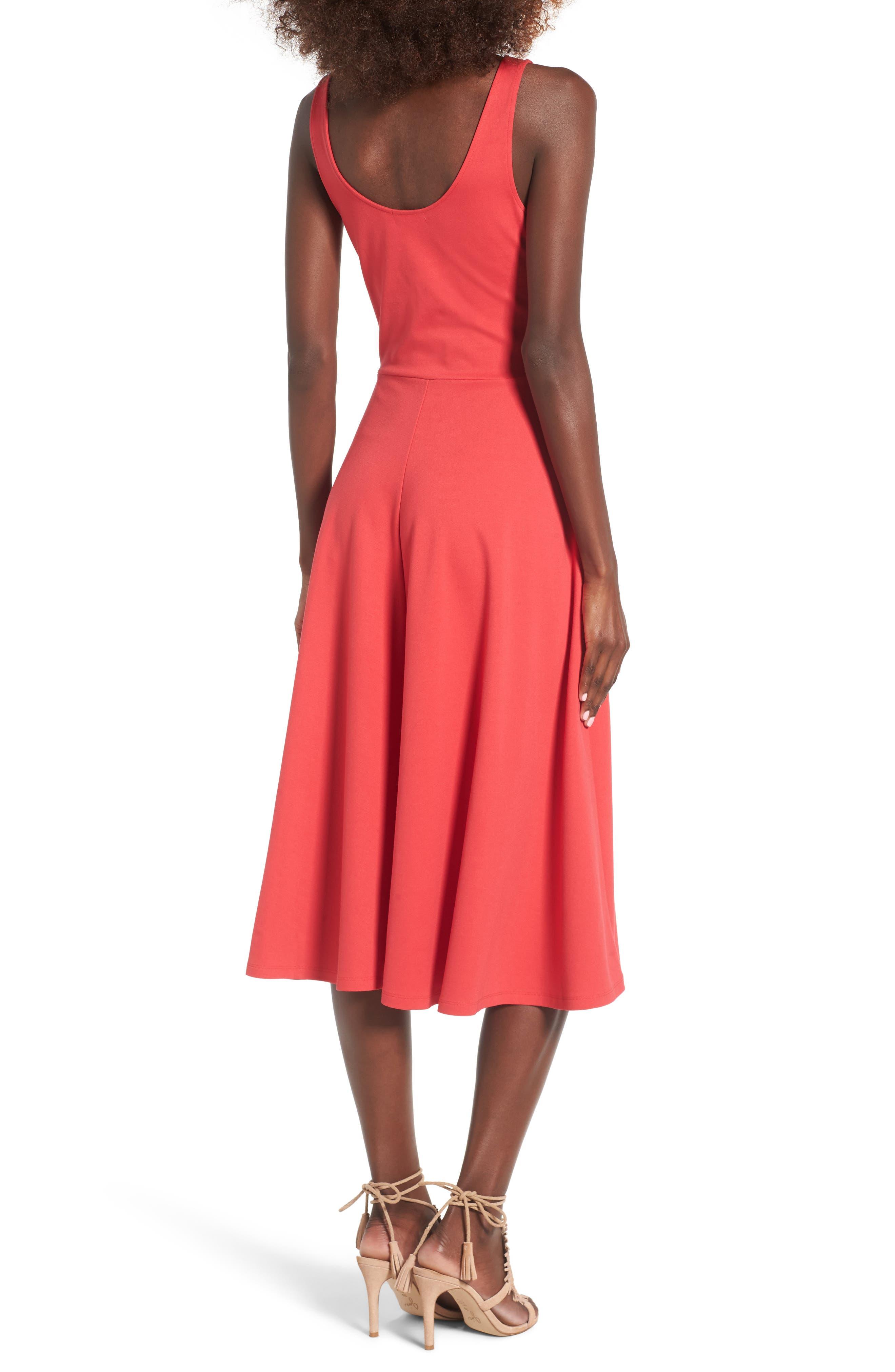 Stretch Knit Midi Dress,                             Alternate thumbnail 20, color,