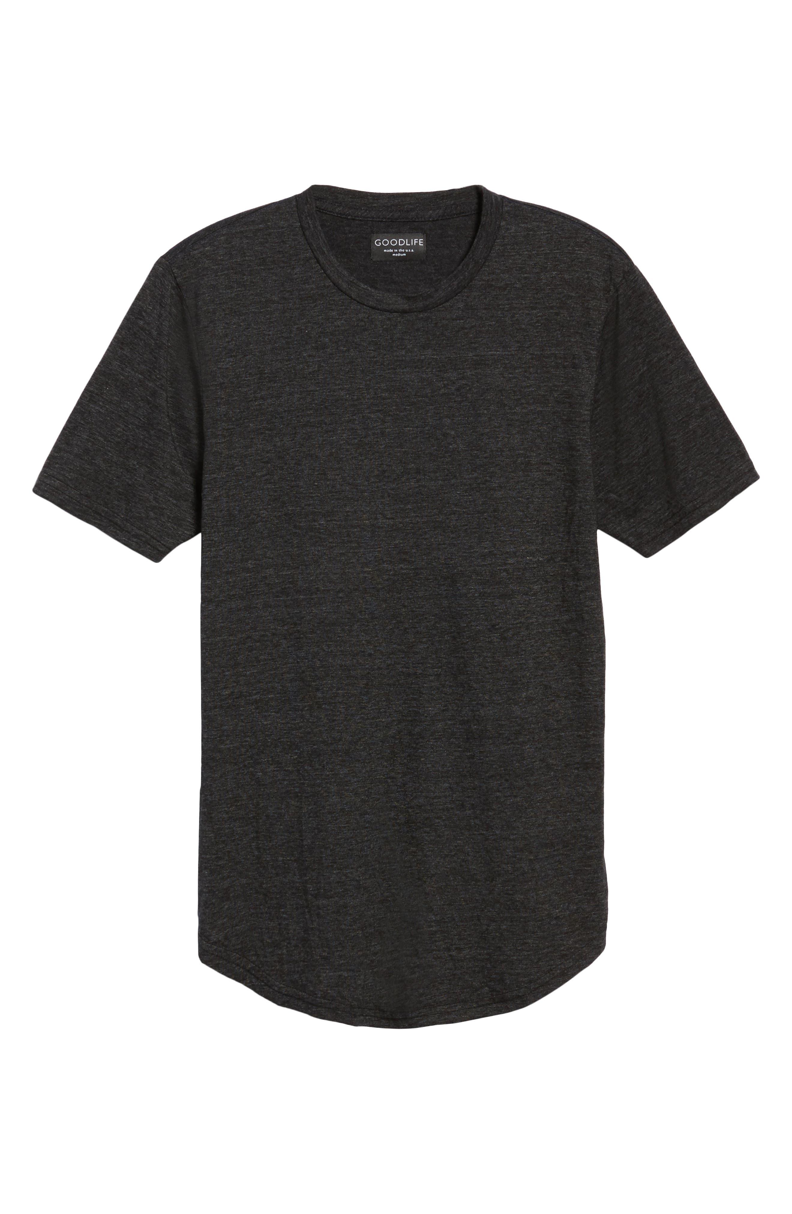 Scallop Triblend Crewneck T-Shirt,                             Alternate thumbnail 38, color,