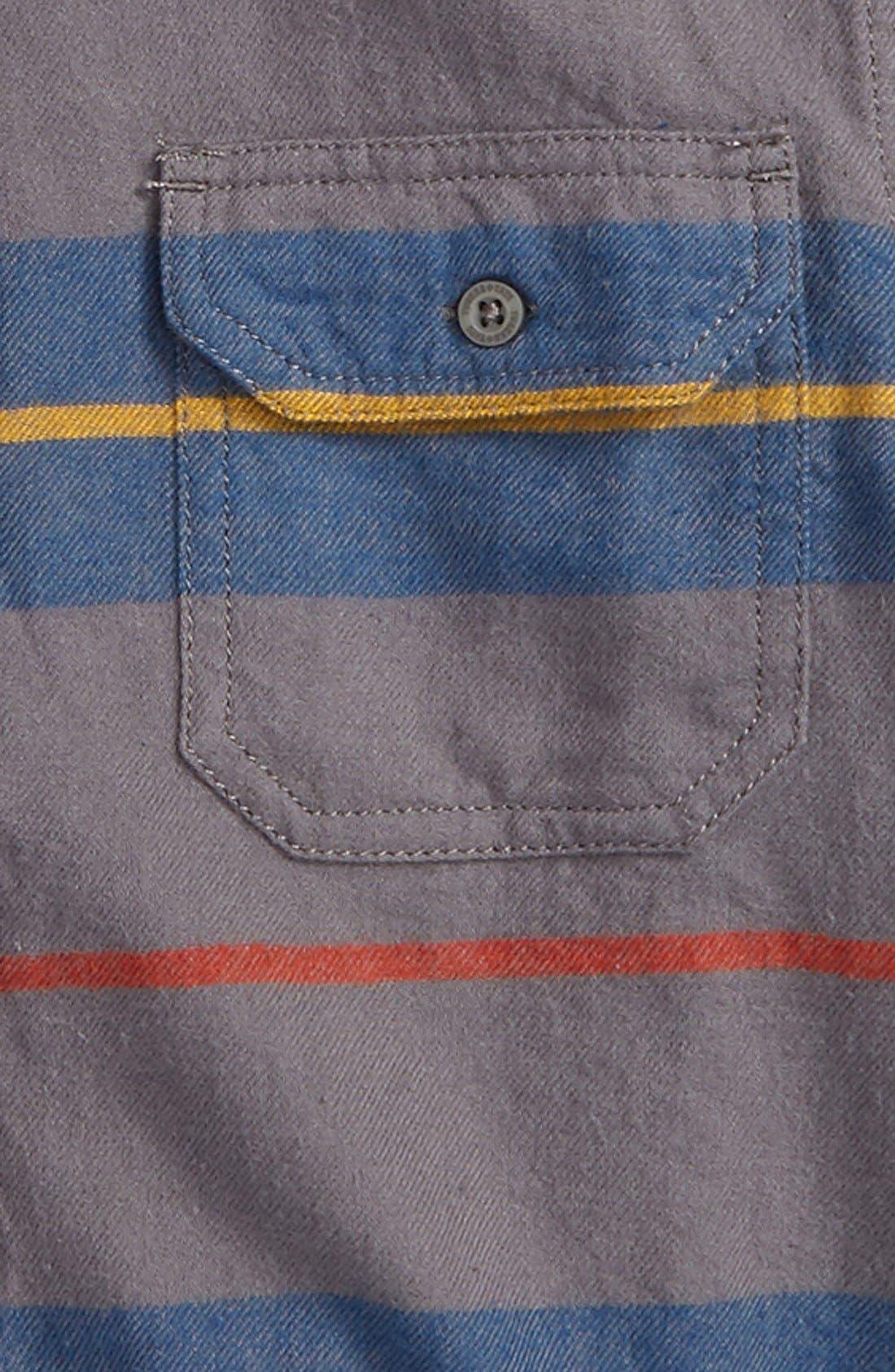 Long Sleeve Plaid Flannel Shirt,                             Alternate thumbnail 2, color,                             021