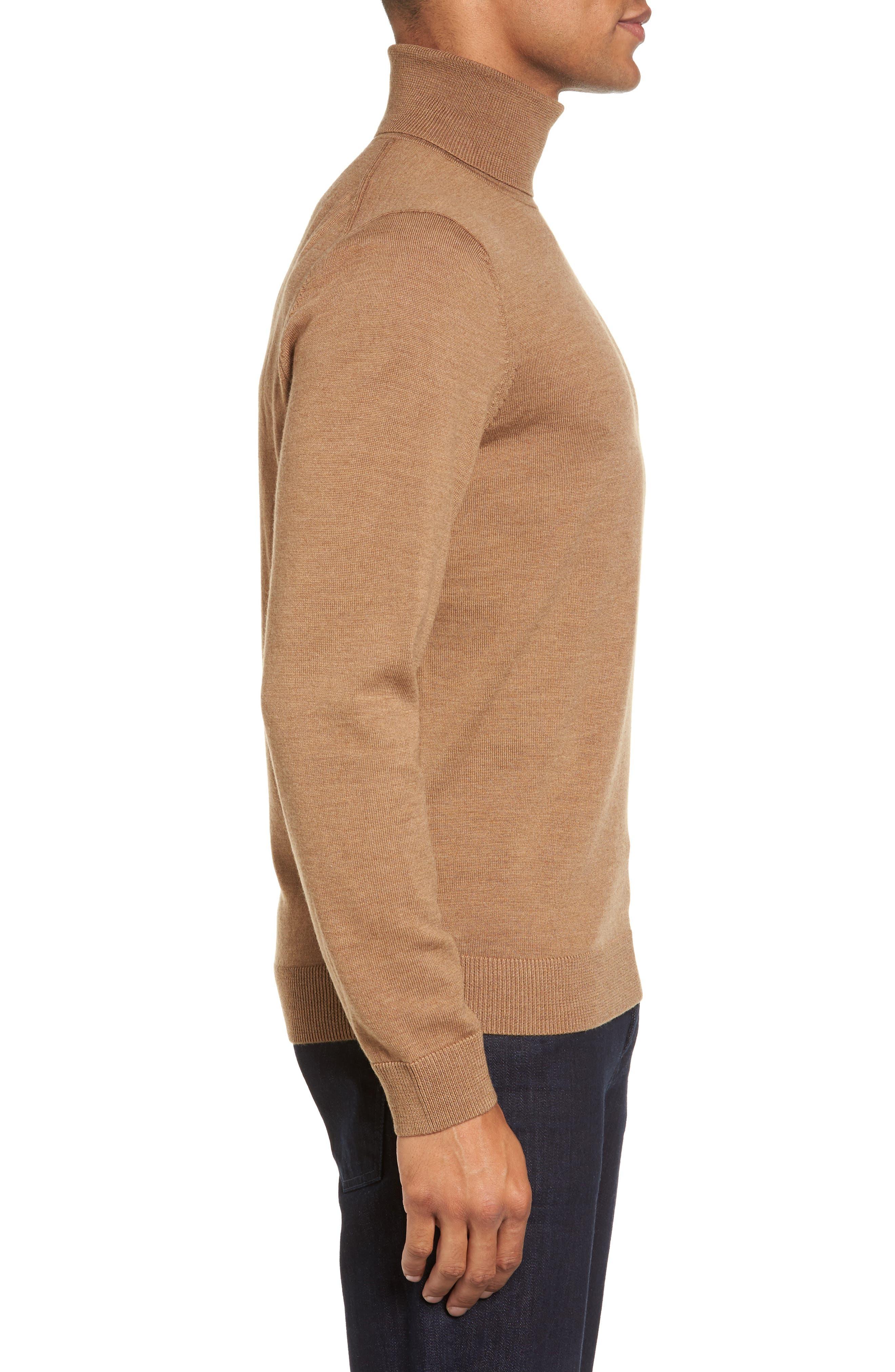 Merino Wool Turtleneck Sweater,                             Alternate thumbnail 16, color,