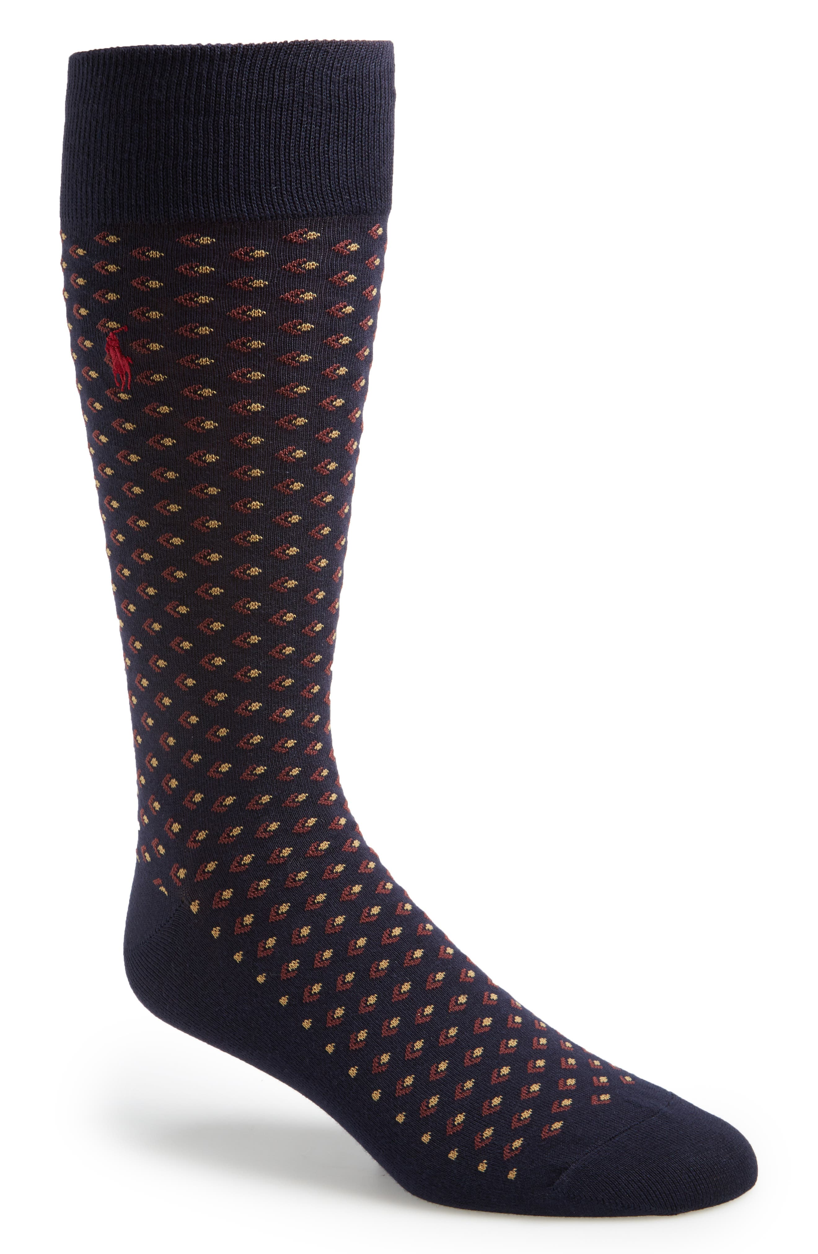 Diamond Pattern Socks,                             Alternate thumbnail 2, color,                             401