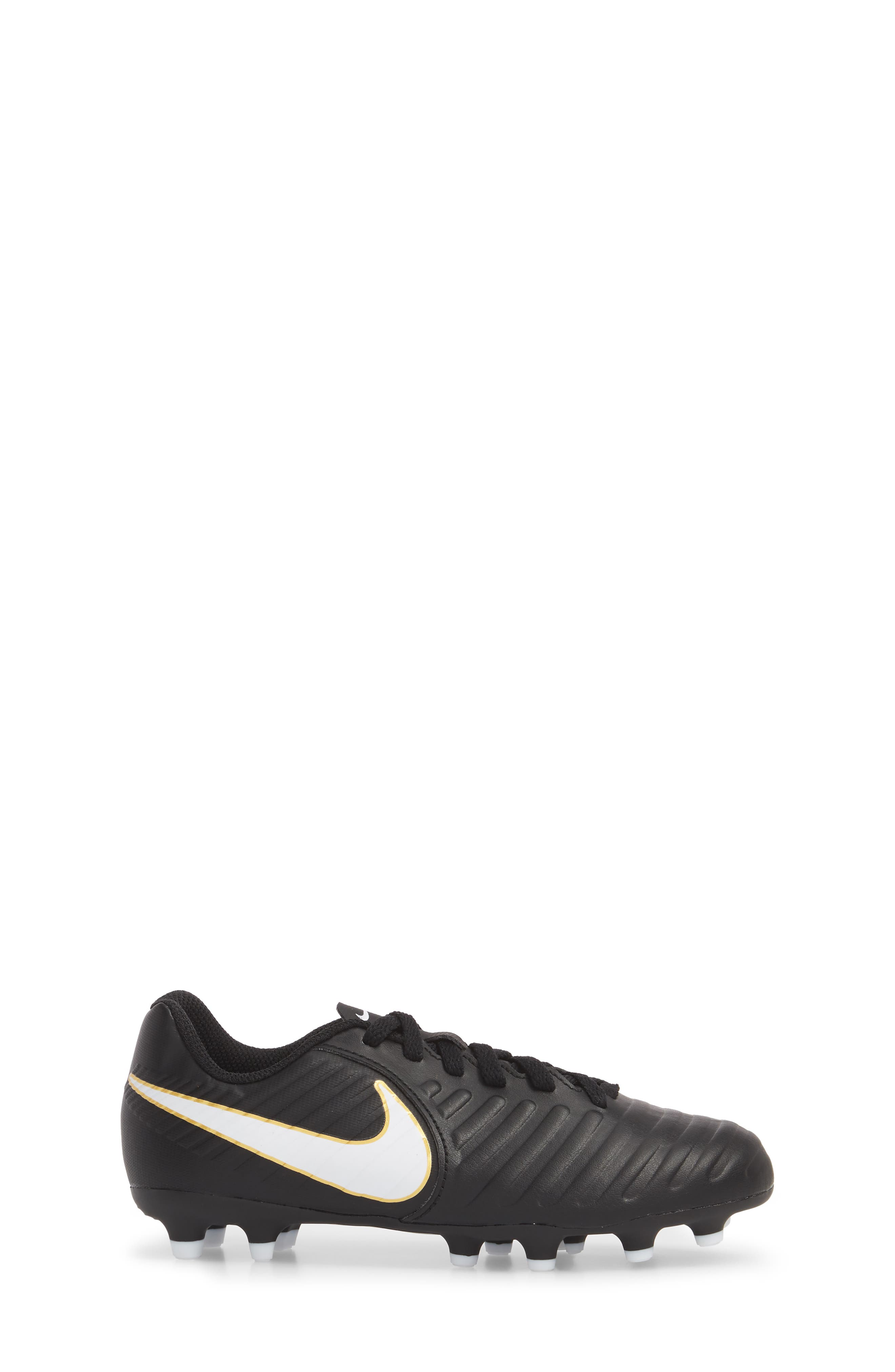 Tiempo Legend 7 Club Firm Ground Soccer Shoe,                             Alternate thumbnail 3, color,                             002