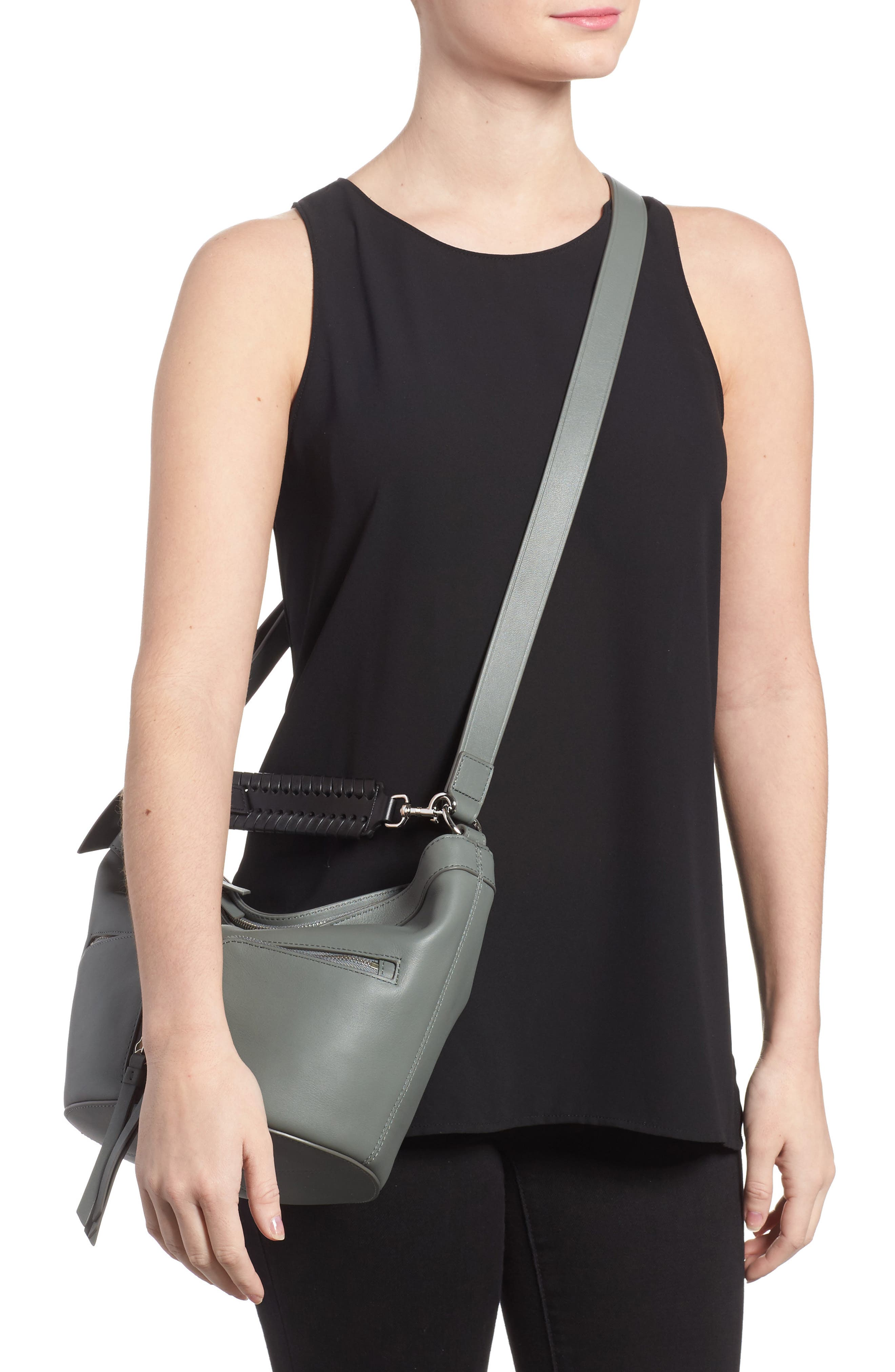 Fetch Leather Crossbody Bag,                             Alternate thumbnail 2, color,                             462
