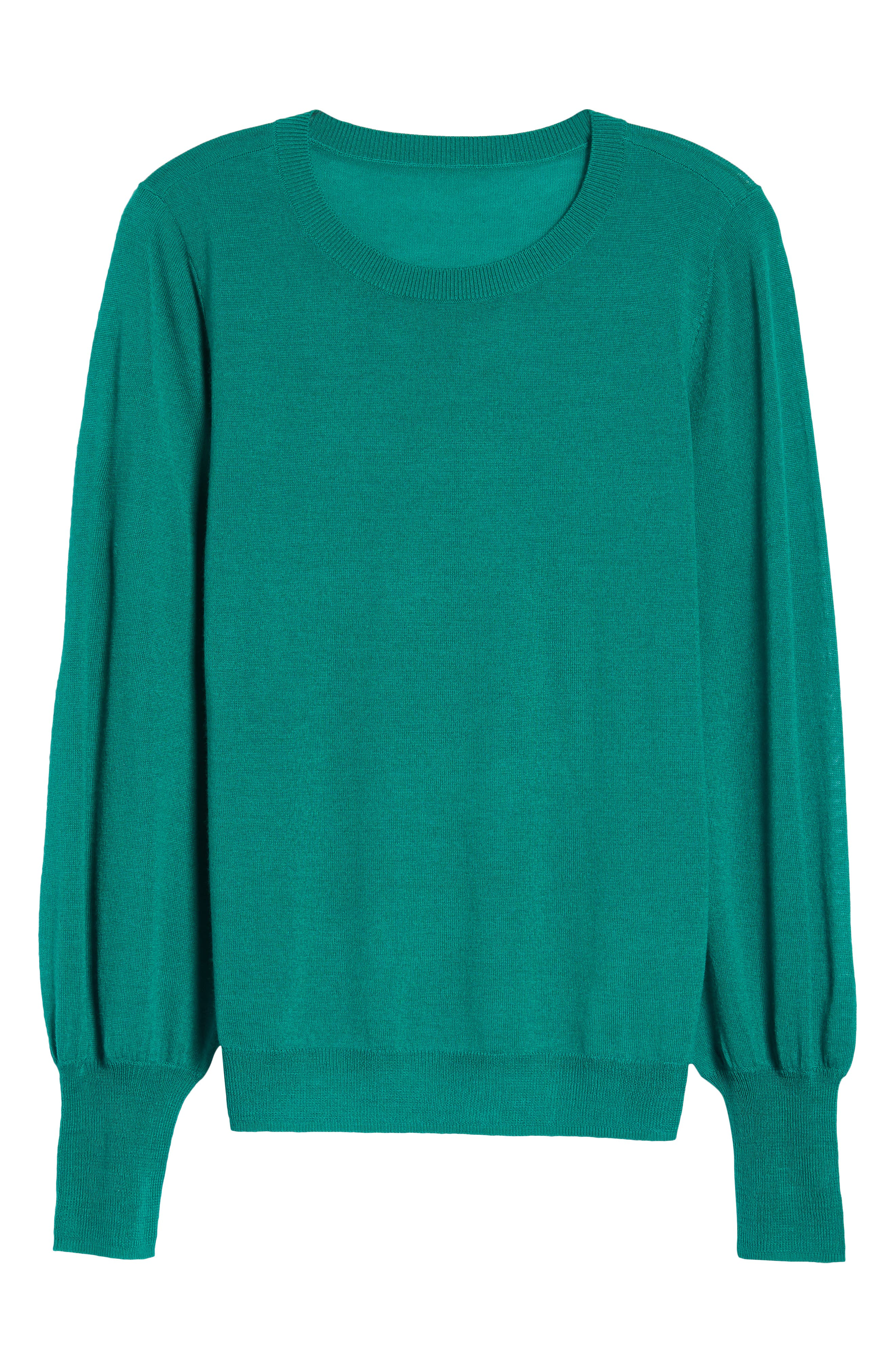 Puff Sleeve Sweater,                             Alternate thumbnail 54, color,