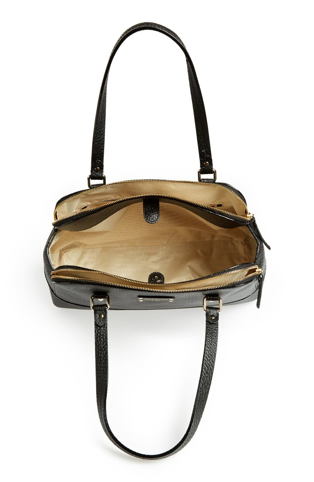 'grove court - lainey' leather tote,                             Alternate thumbnail 2, color,                             001