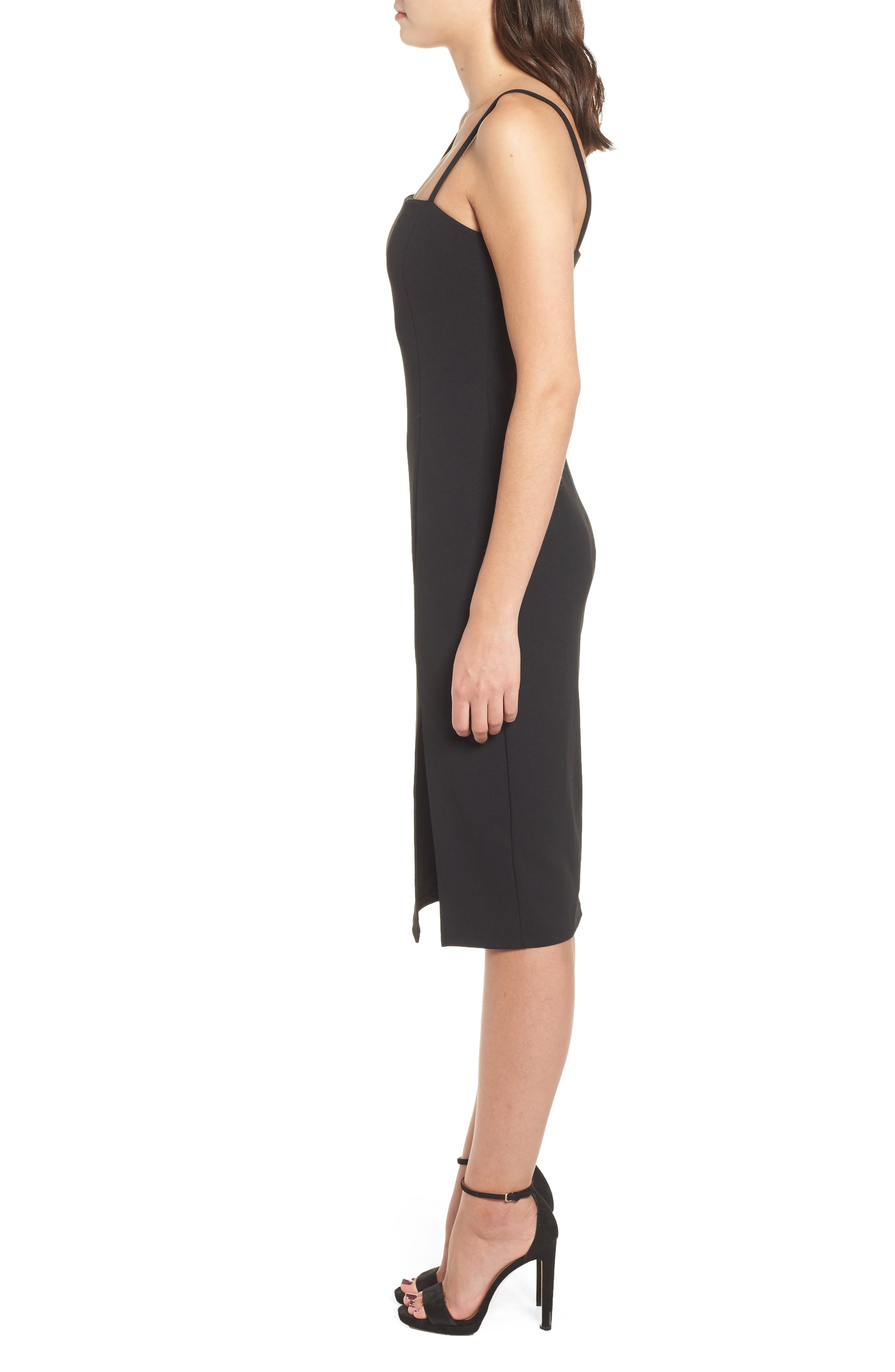 Sheath Dress,                             Alternate thumbnail 3, color,                             001