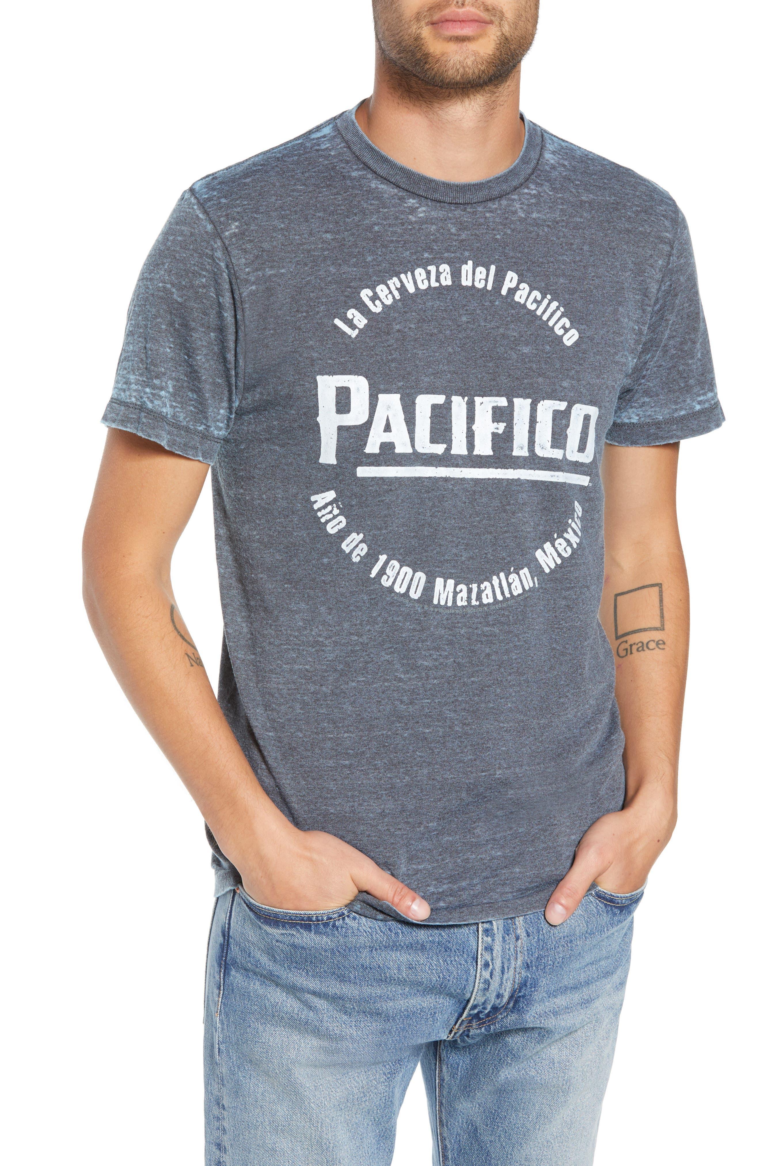 Pacifico Burnout T-Shirt,                         Main,                         color, 420