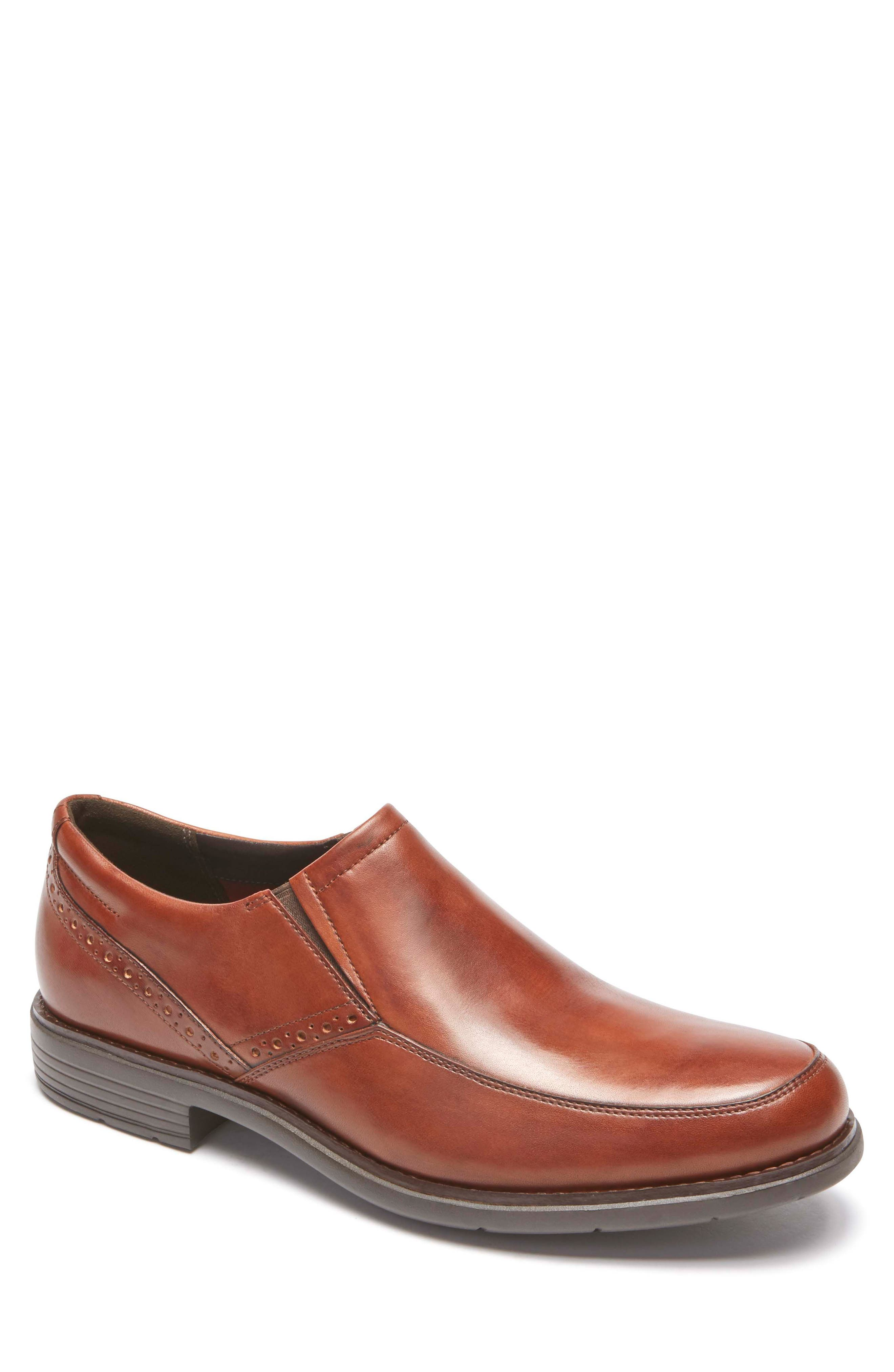 Total Motion Classic Dress Venetian Loafer,                         Main,                         color, TAN LEATHER