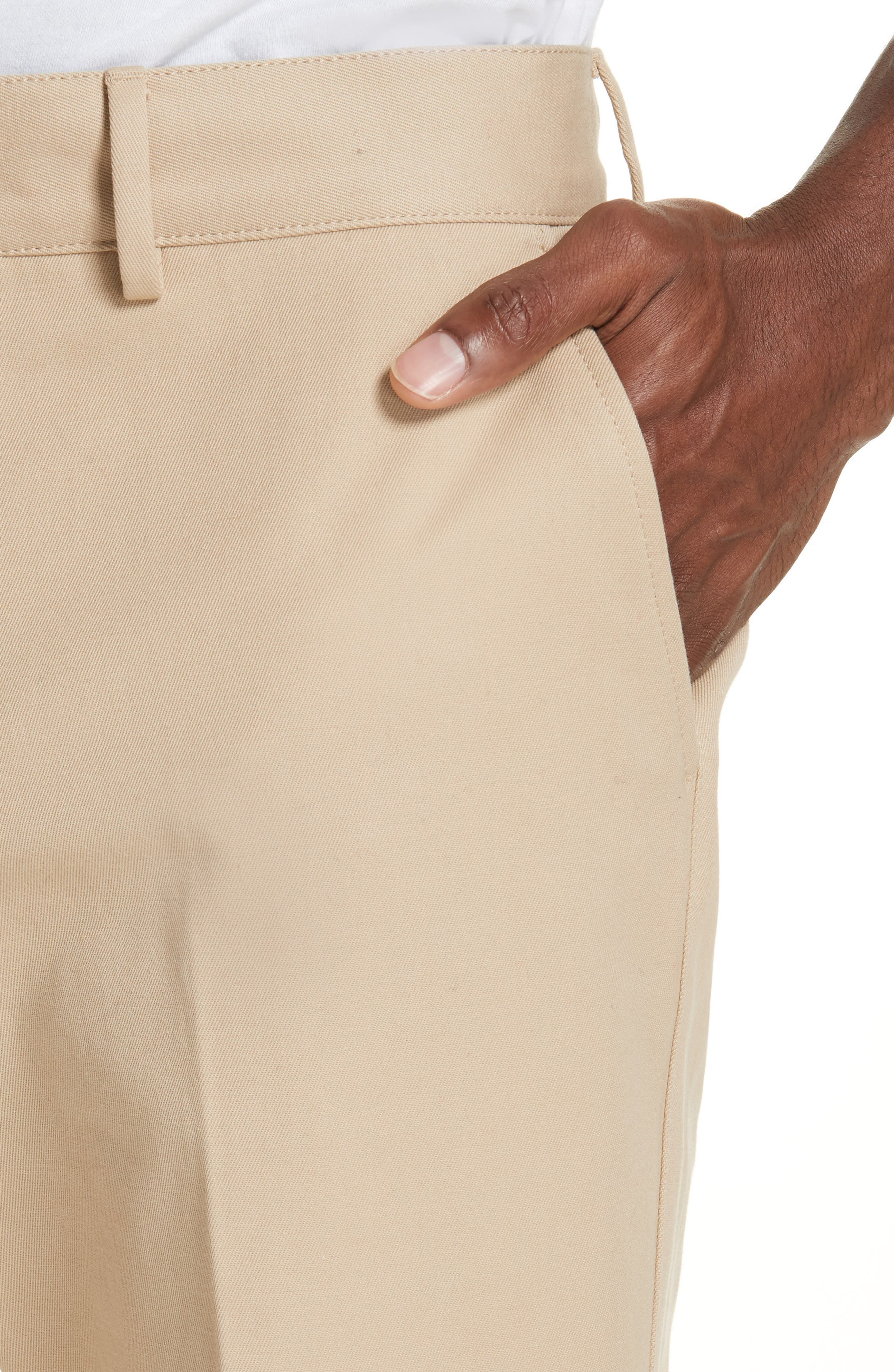 Straight Leg Chinos,                             Alternate thumbnail 4, color,                             STONE