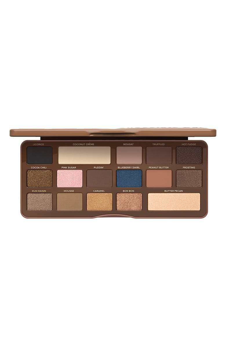 Too Faced SEMI-SWEET CHOCOLATE BAR EYESHADOW PALETTE - NO COLOR