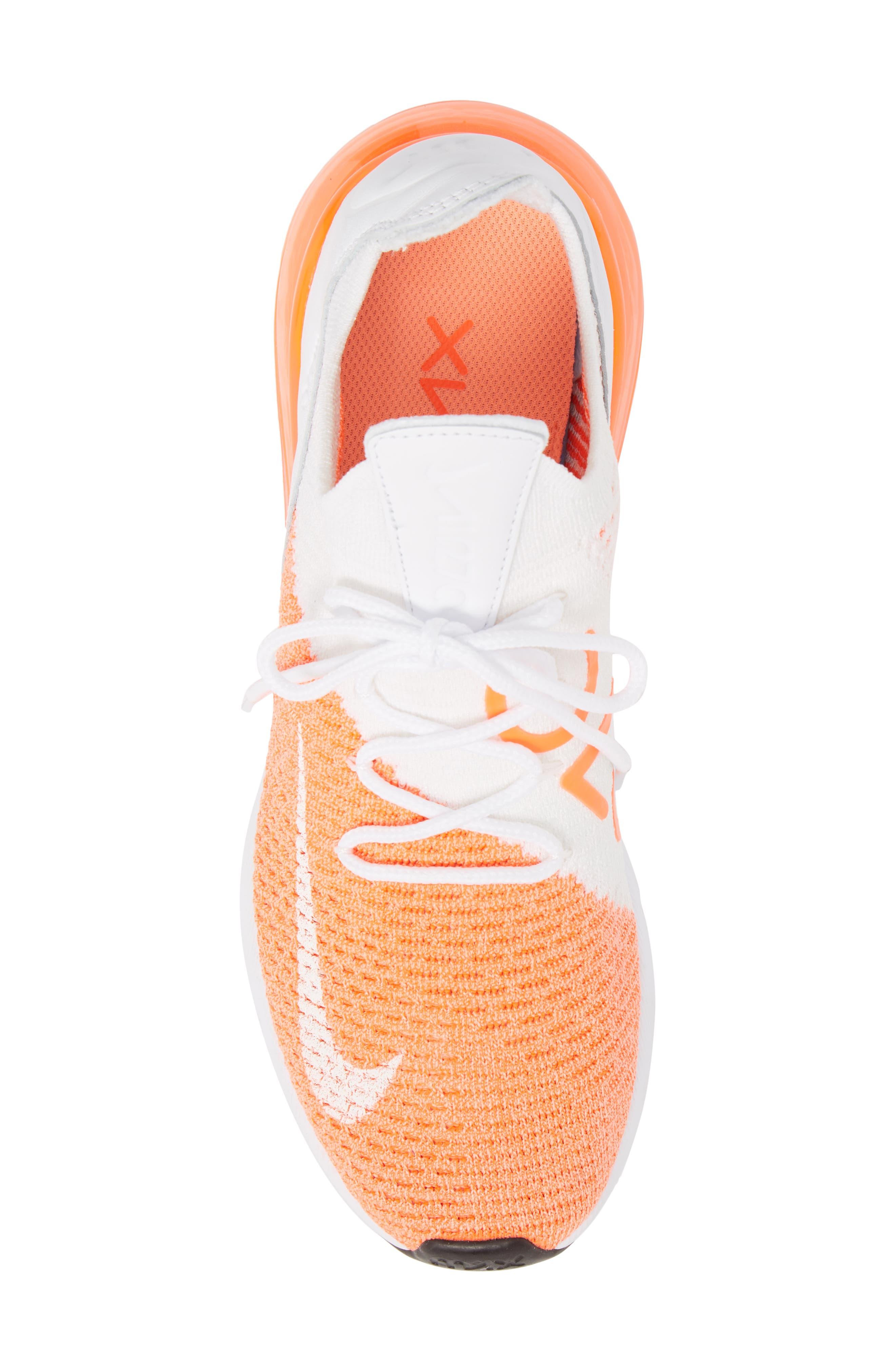 Air Max 270 Flyknit Sneaker,                             Alternate thumbnail 33, color,