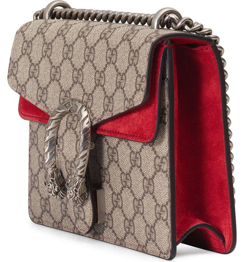 f492ecb650c Shop Gucci Mini Dionysus Gg Supreme Shoulder Bag - Beige In Beige ...
