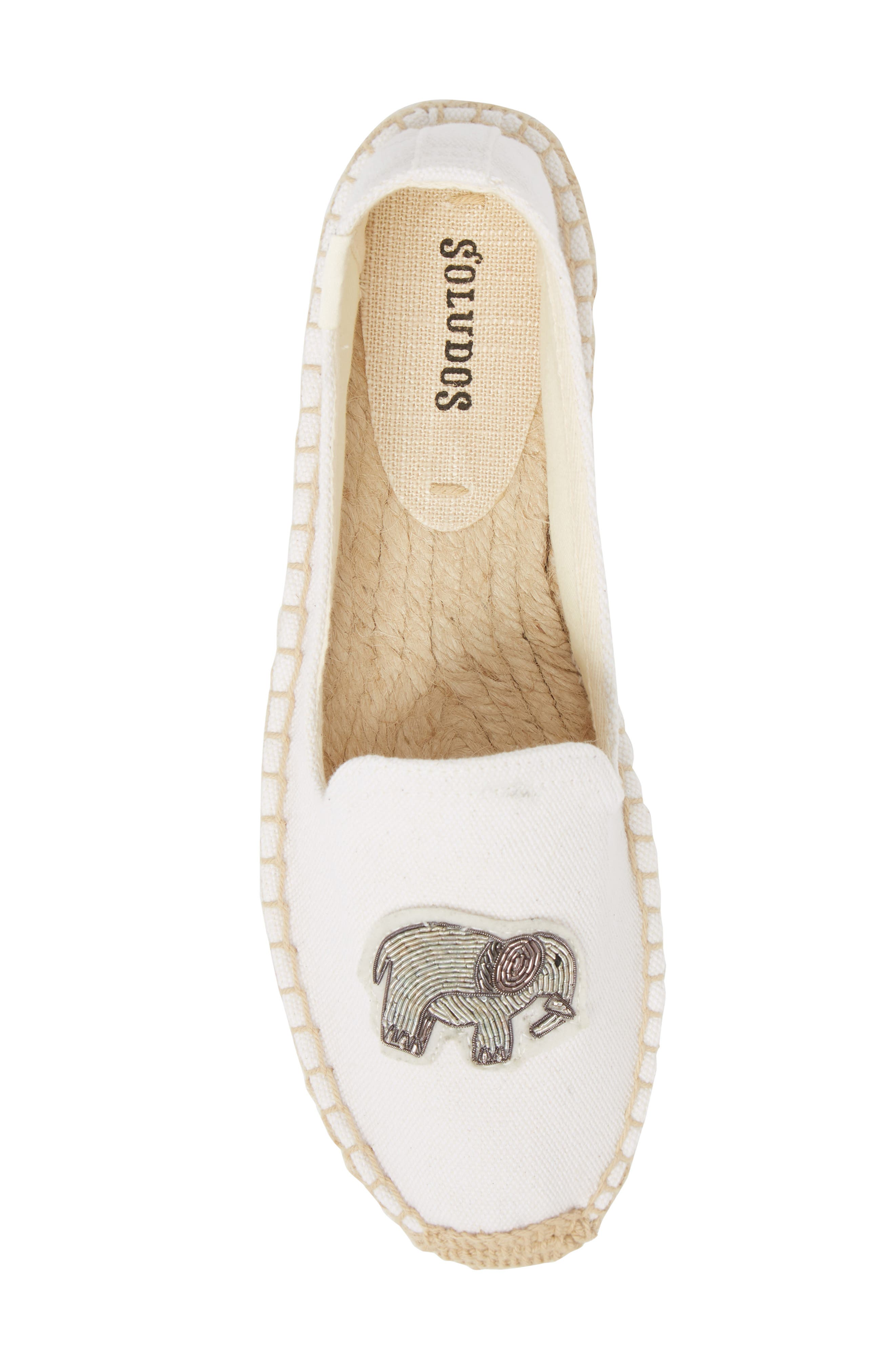 Beaded Elephant Slip-On,                             Alternate thumbnail 5, color,                             100