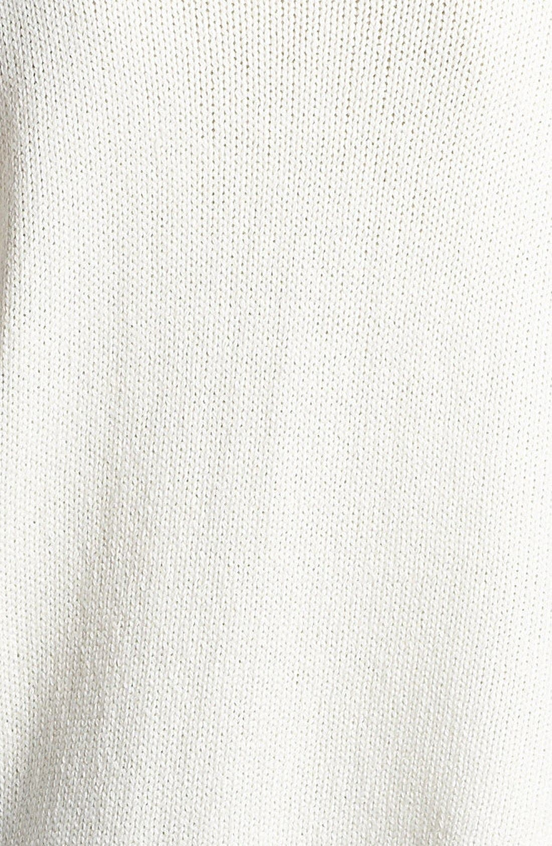 HELMUT LANG,                             HELMUT Helmut Lang Asymmetrical Hem Sweater,                             Alternate thumbnail 2, color,                             101