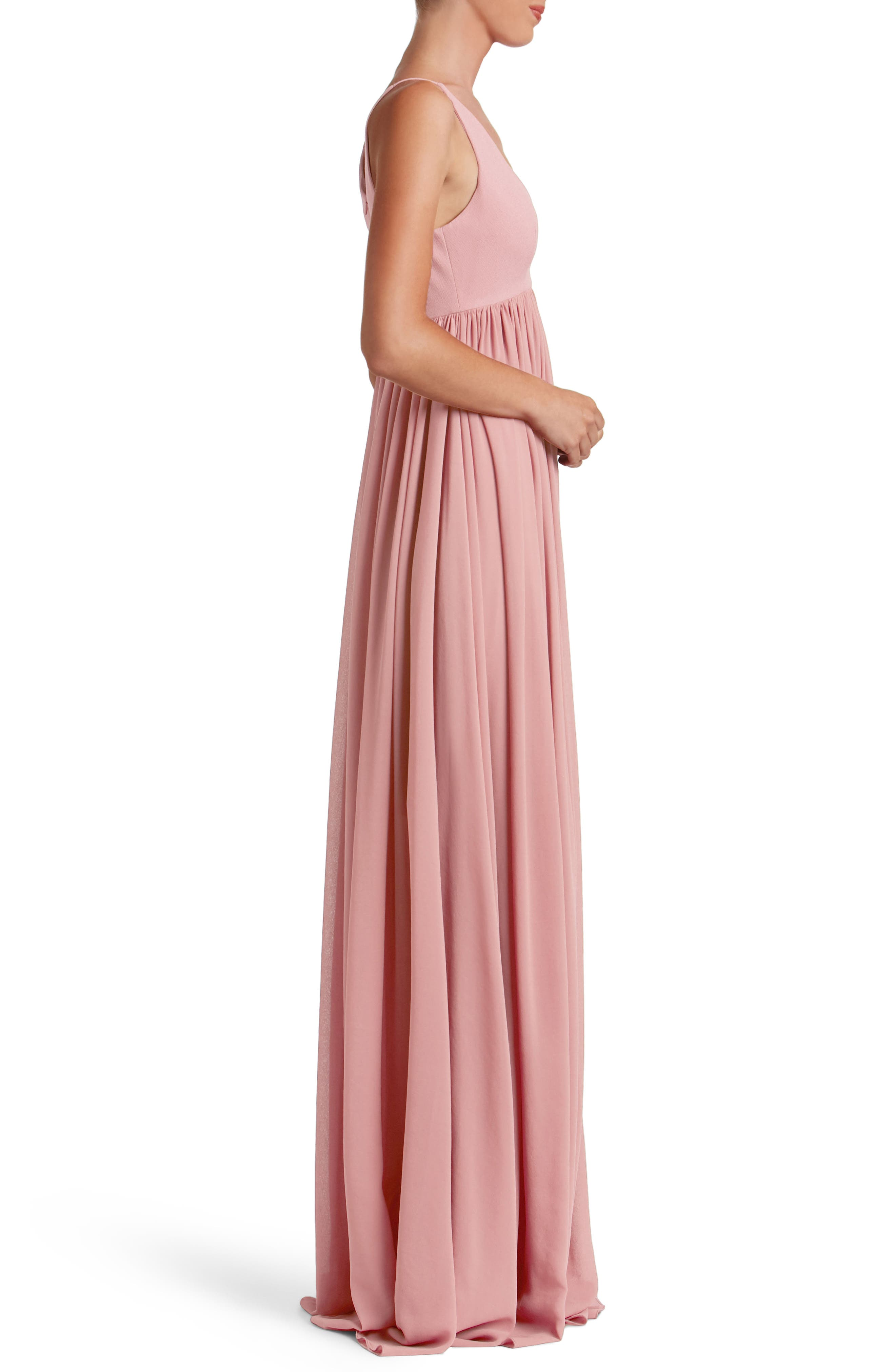 Phoebe Chiffon Gown,                             Alternate thumbnail 11, color,