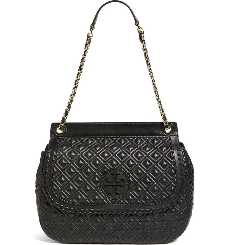 fa02afe4b79f Tory Burch Marion Quilted Saddle Bag - Best Quilt Grafimage.co