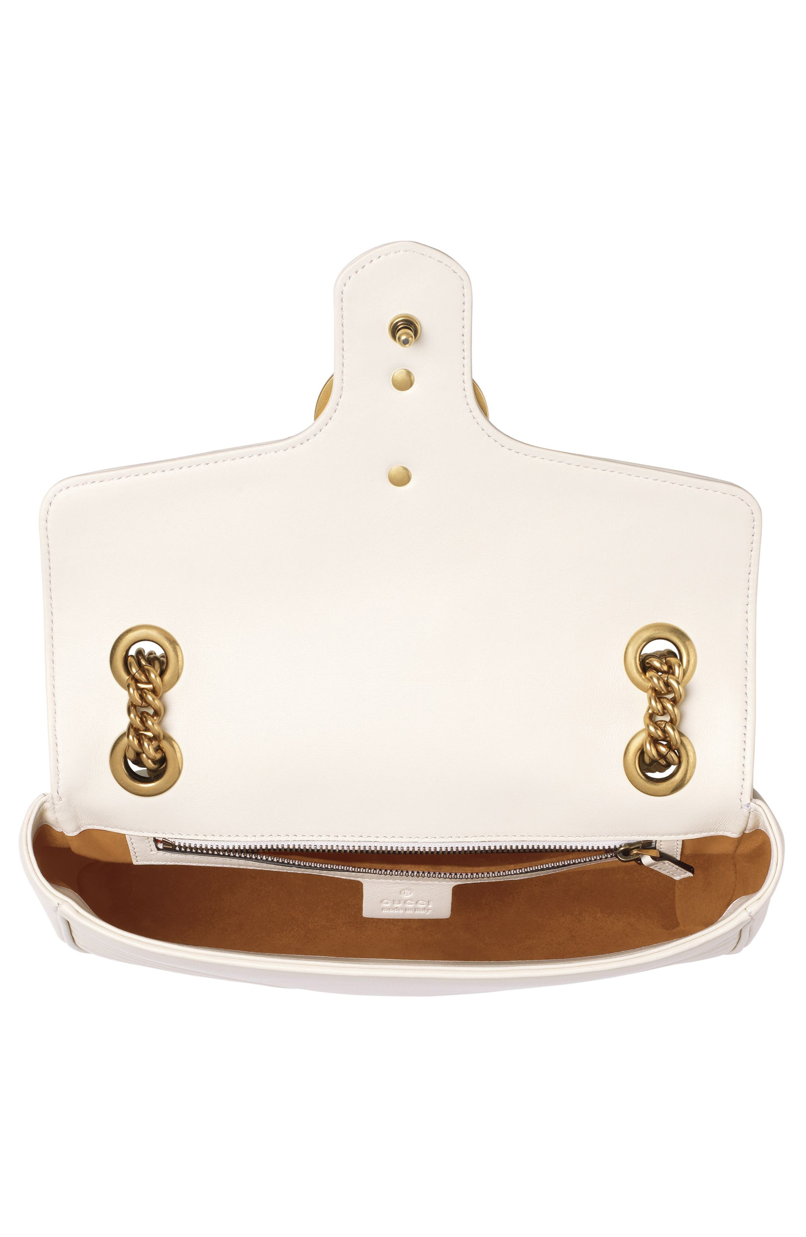 Small GG Marmont 2.0 Matelassé Leather Shoulder Bag,                             Alternate thumbnail 12, color,