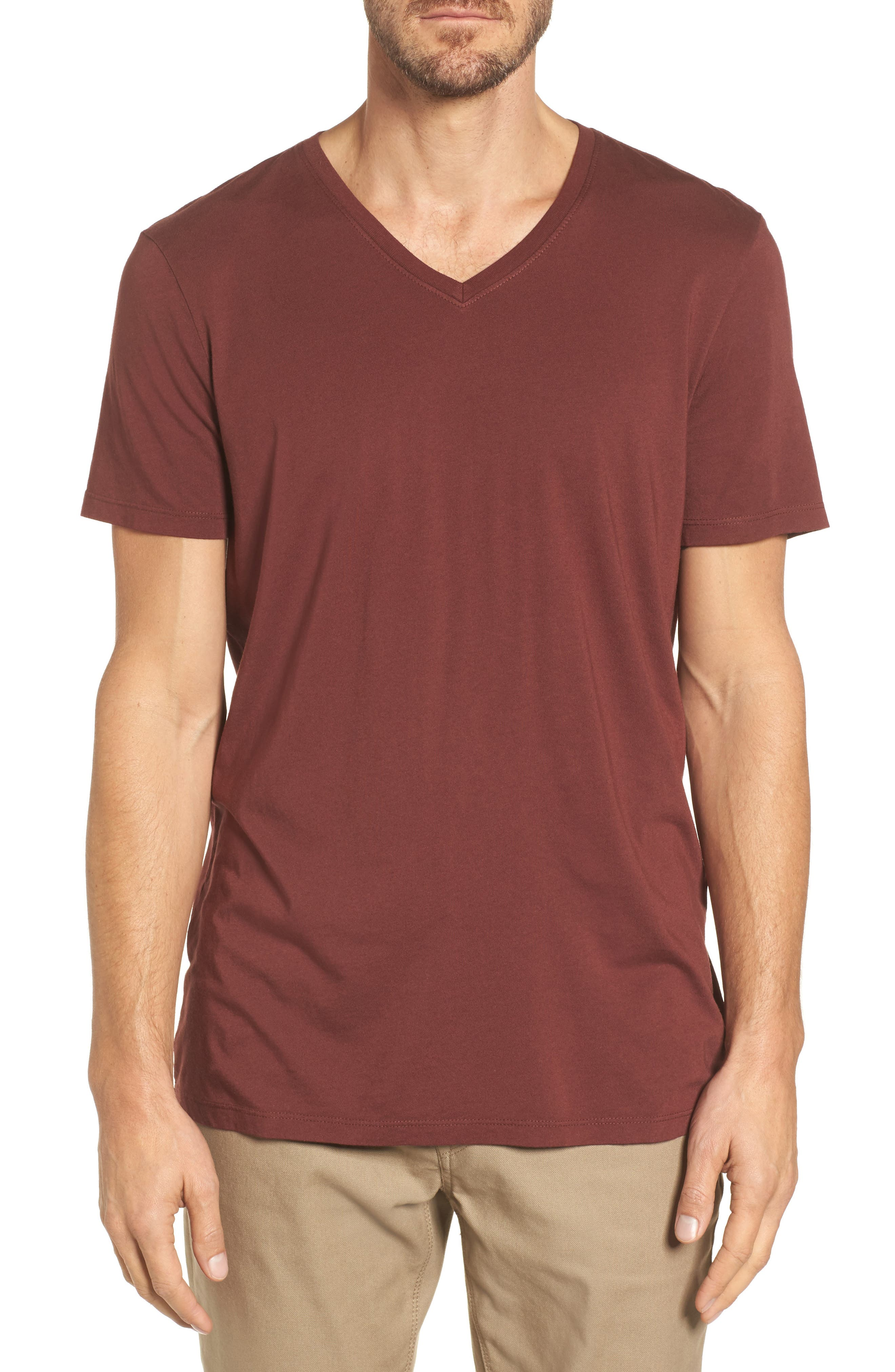 Bryce V-Neck T-Shirt,                             Main thumbnail 2, color,
