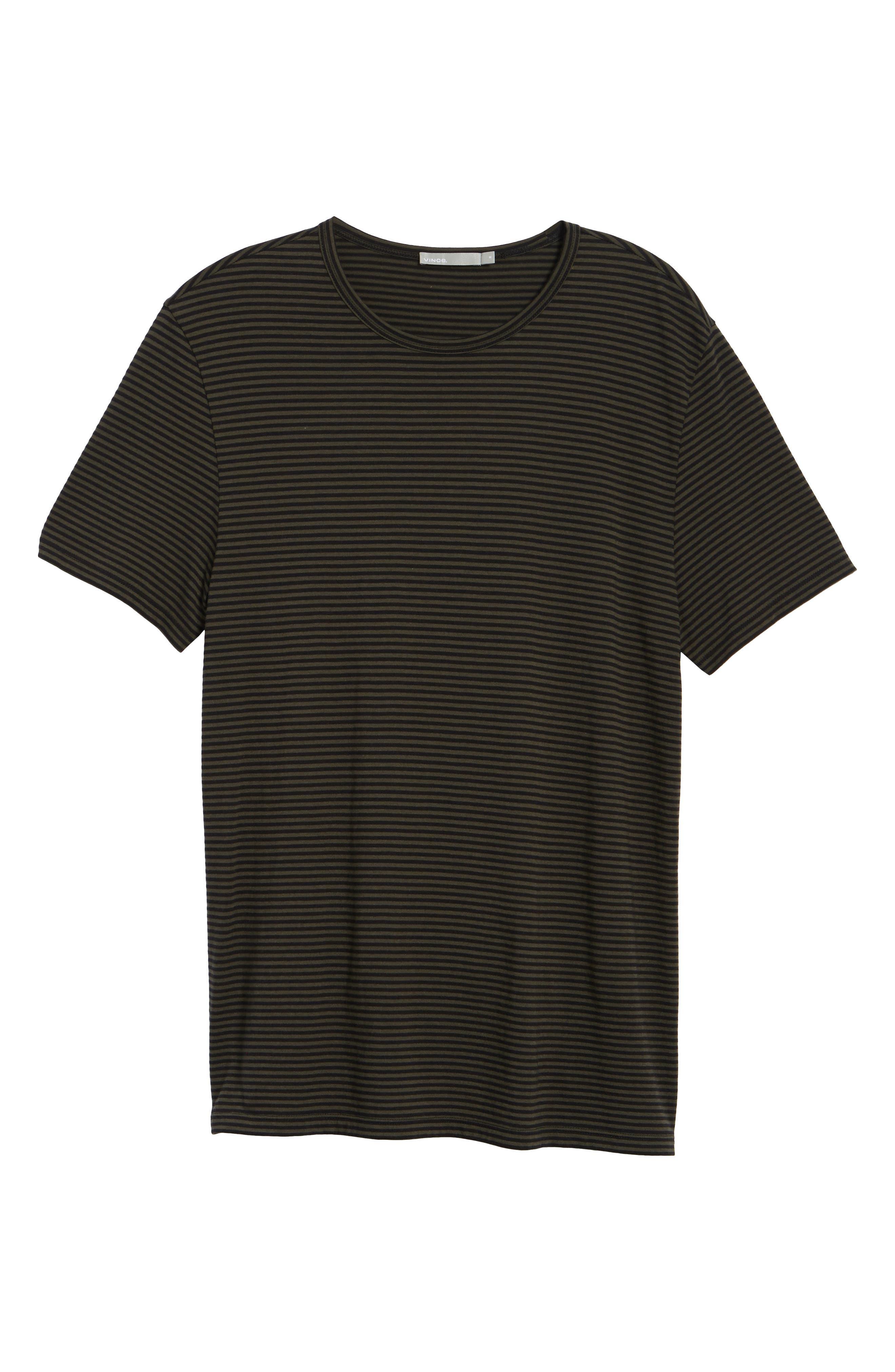 Feeder Stripe Long Sleeve Shirt,                             Alternate thumbnail 12, color,