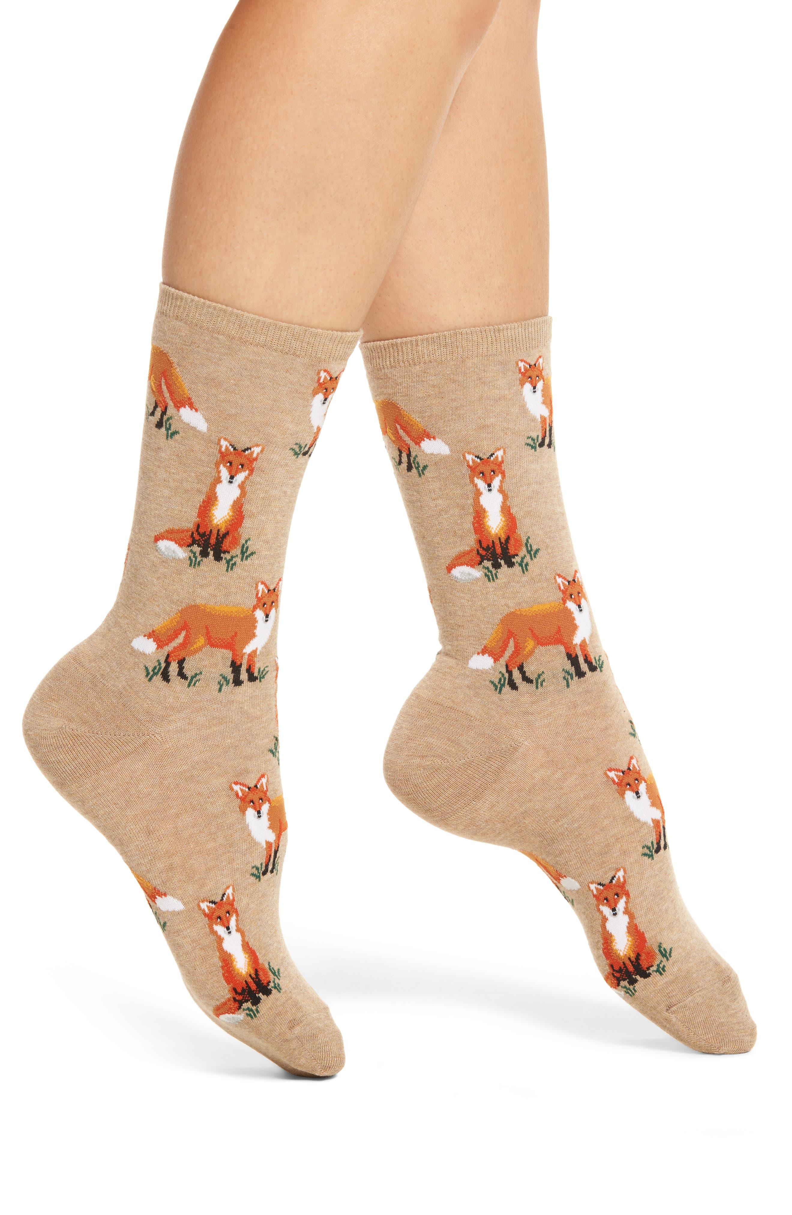 Fox Socks,                             Main thumbnail 1, color,                             130
