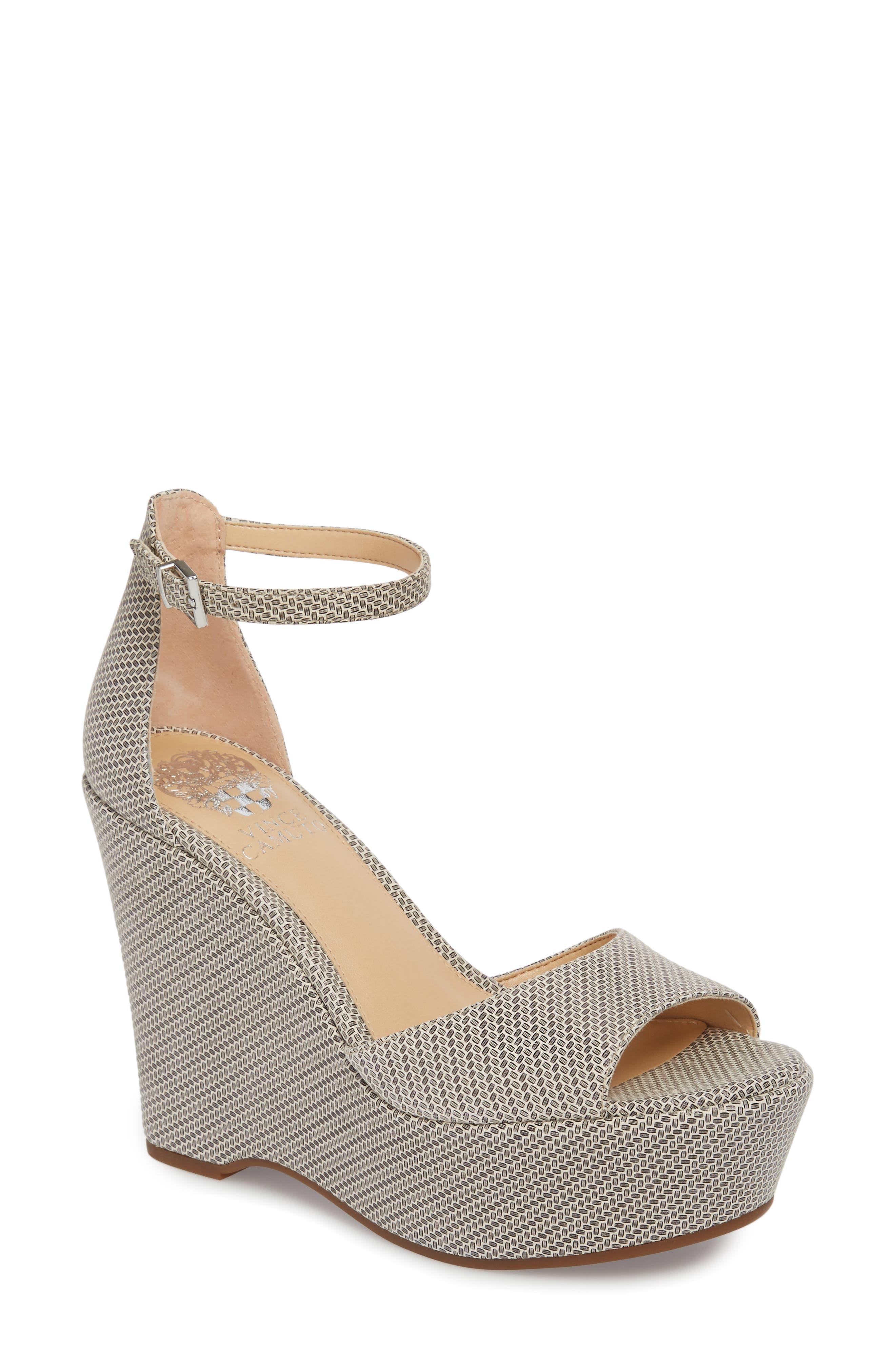 Tatchen Ankle Strap Platform Sandal,                             Main thumbnail 1, color,                             002
