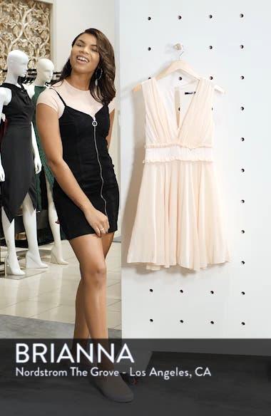 Joany Ruffle Waist Fit & Flare Dress, sales video thumbnail
