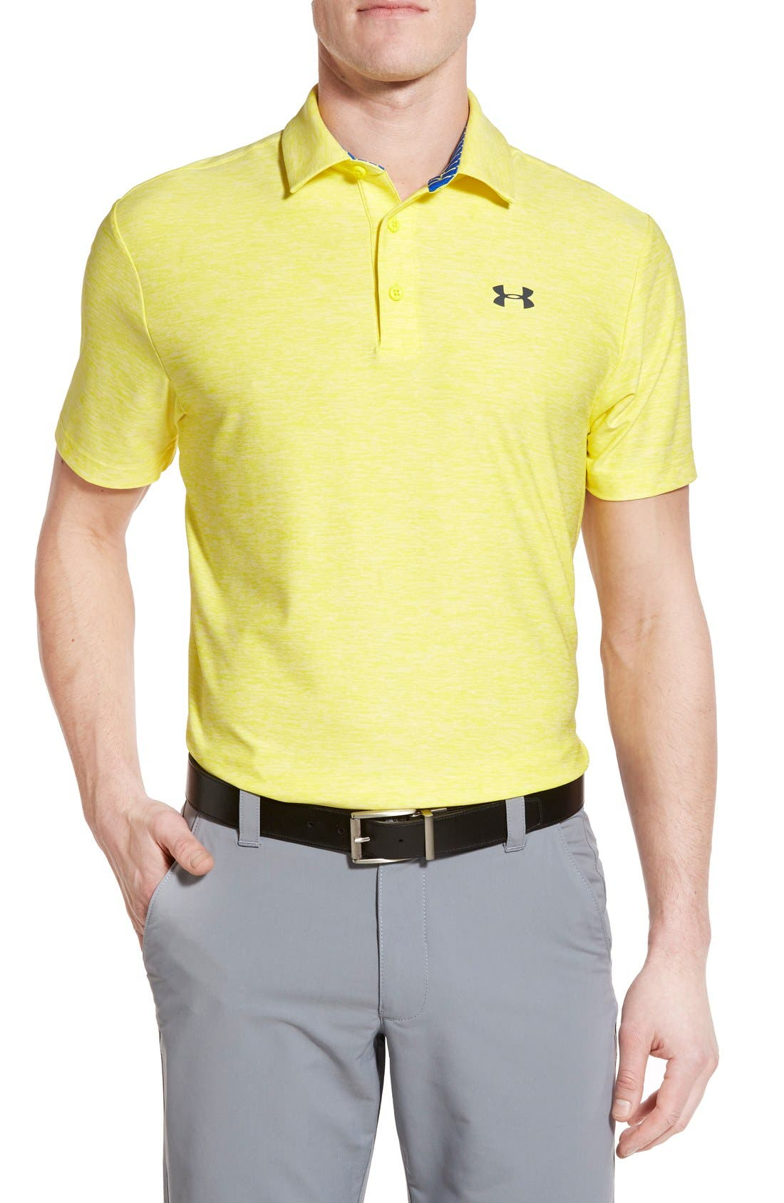 'Playoff' Loose Fit Short Sleeve Polo,                             Main thumbnail 57, color,